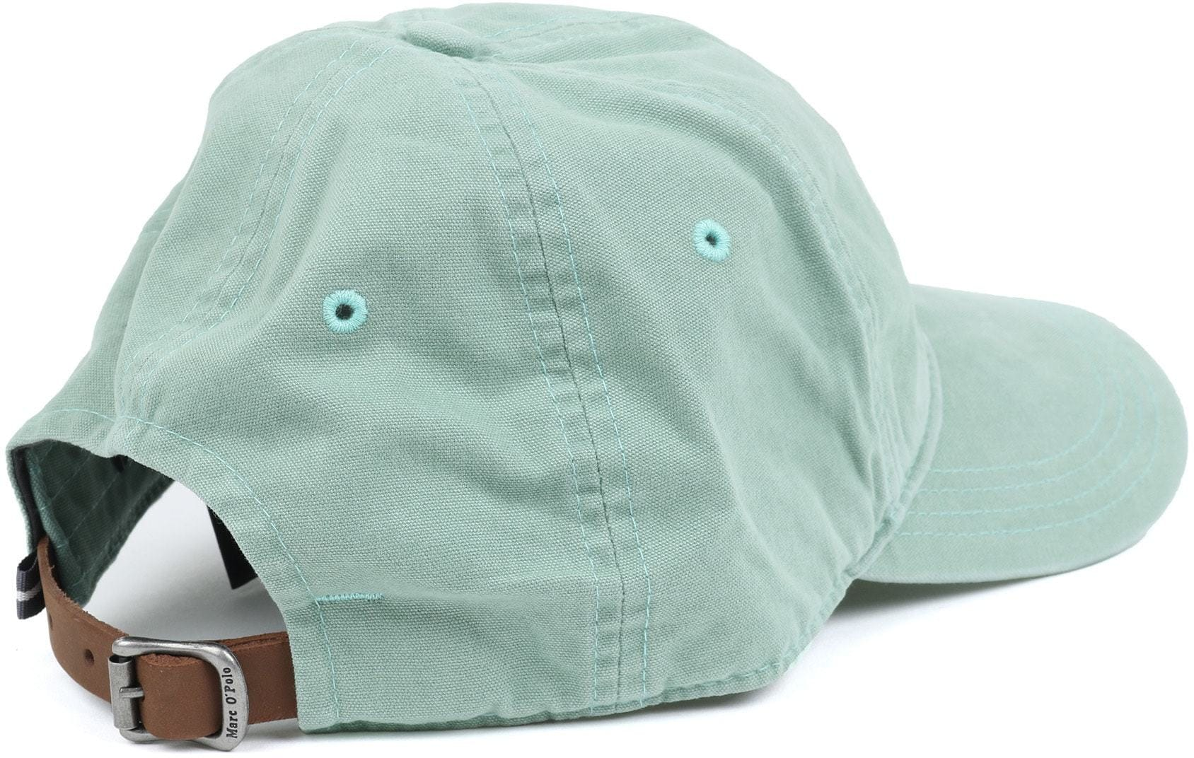 Marc O'Polo Cap Logo Groen foto 3