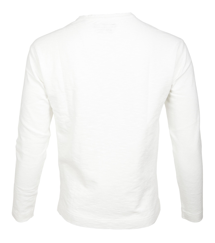 Marc O'Polo Longsleeve T-shirt Wit foto 1