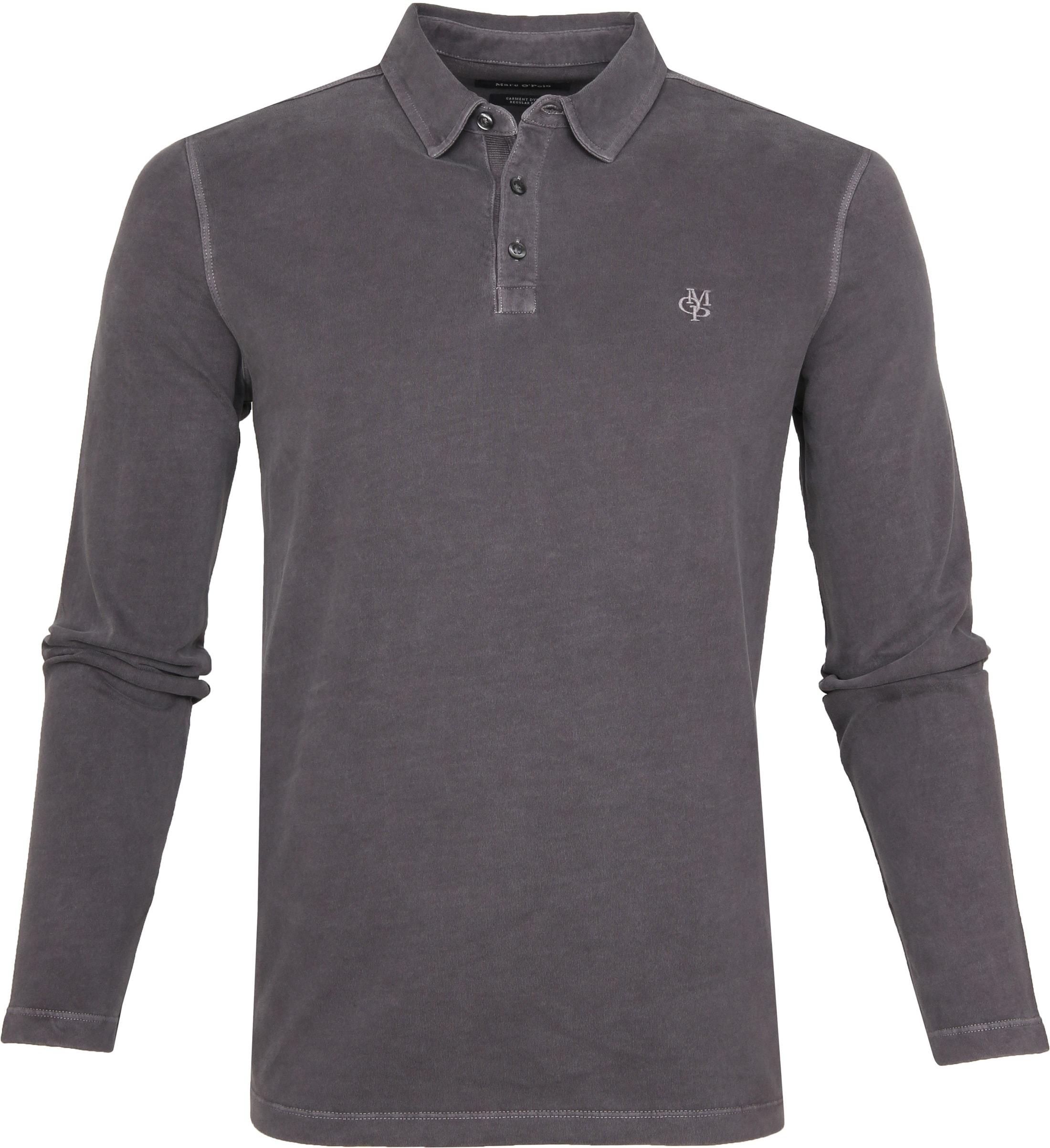 b4094fecfefe68 Marc O'Polo LS Poloshirt Dark Grey 928223655052 order online   Suitable