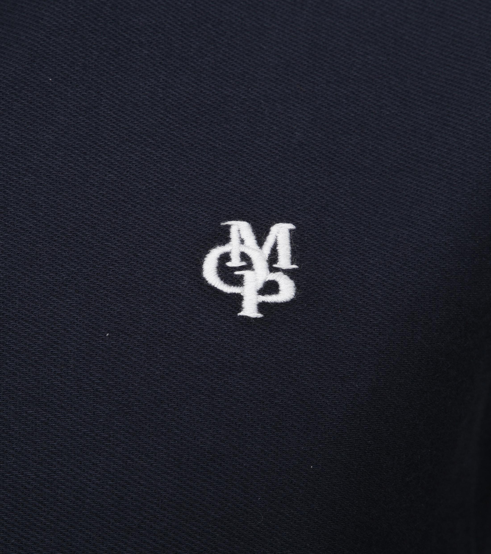 Marc O'Polo LS Poloshirt Navy foto 2