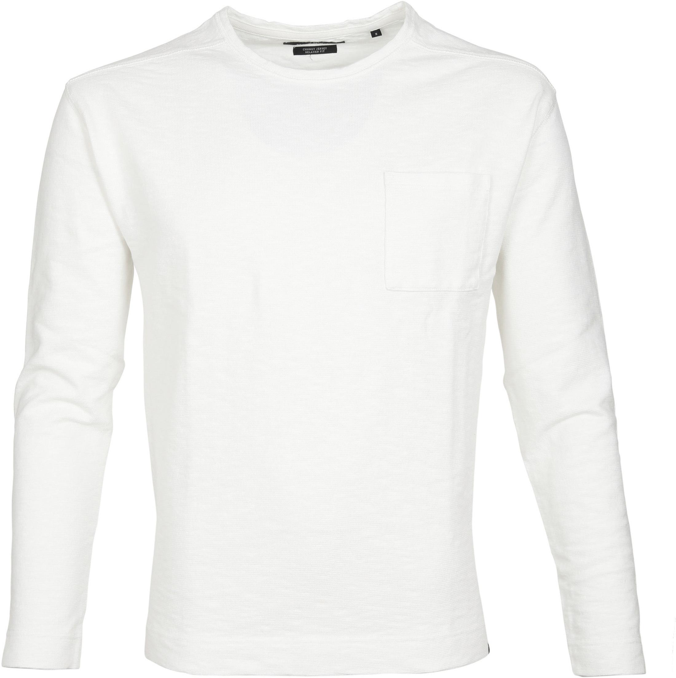 Marc O'Polo Marc O'Polo Longsleeve T-shirt Weiß foto 0