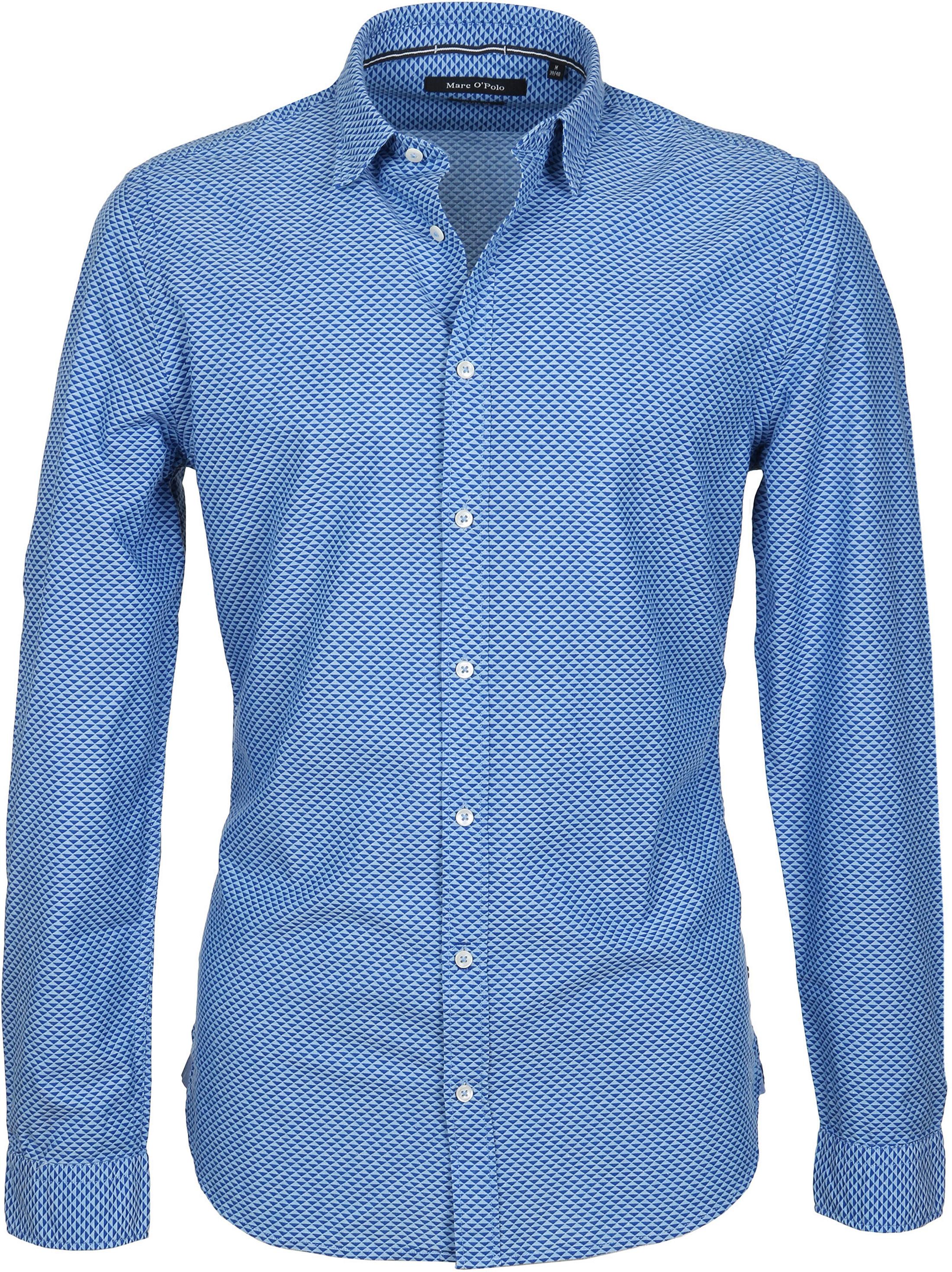 on sale 39a65 086bf Marc O'Polo Overhemd Blauw 822743642072 online bestellen ...