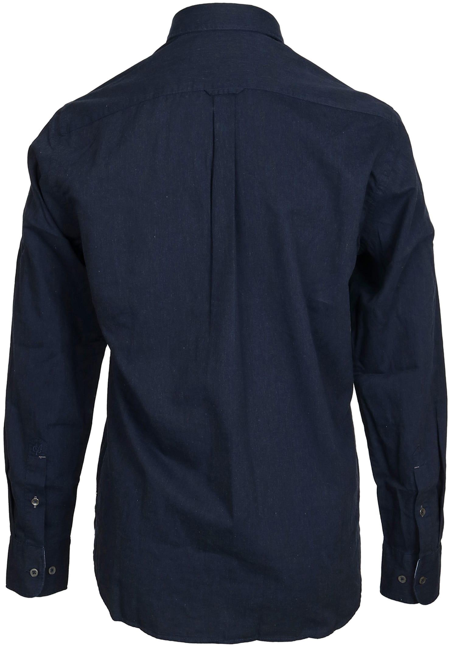 Marc O'Polo Overhemd Navy foto 1