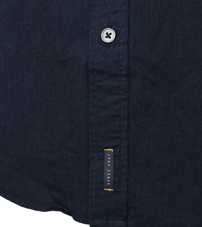 Marc O'Polo Overhemd Navy foto 3