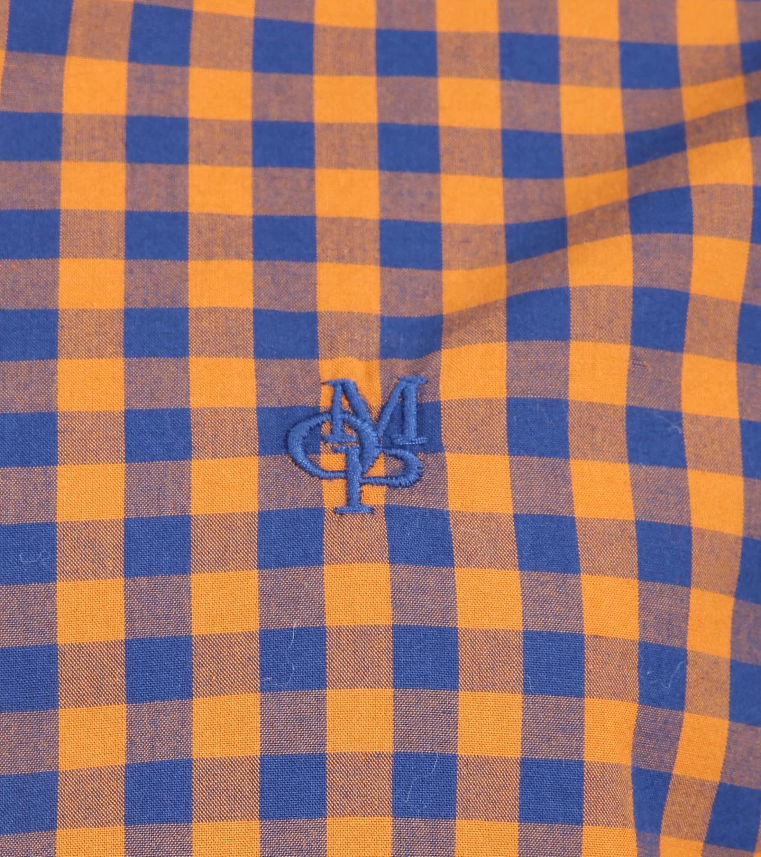 Marc O'Polo Overhemd Ruiten Oranje foto 2