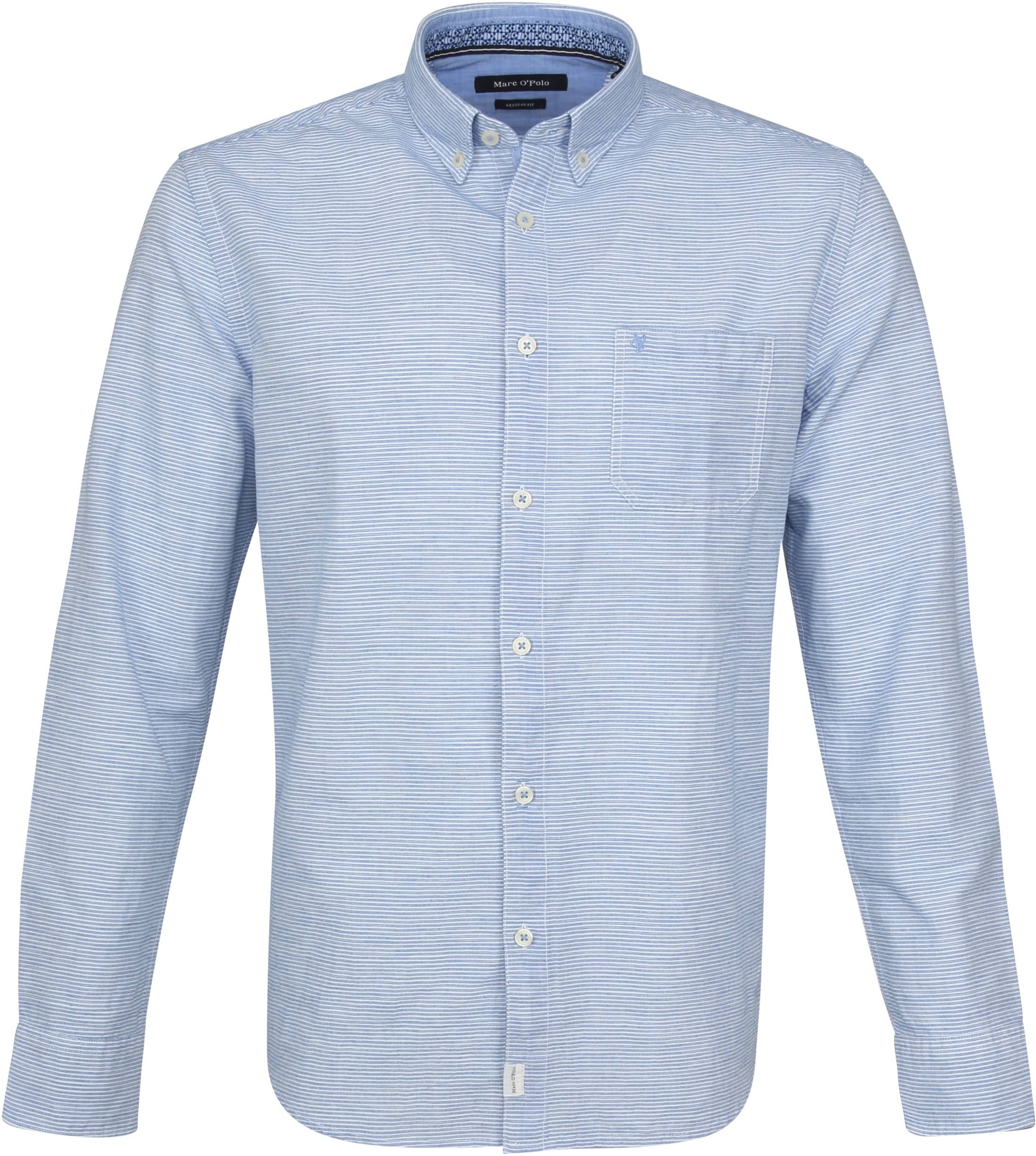 hot sale online 7b9fd c57b7 Marc O'Polo Overhemd Strepen Blauw 923733742338 online ...