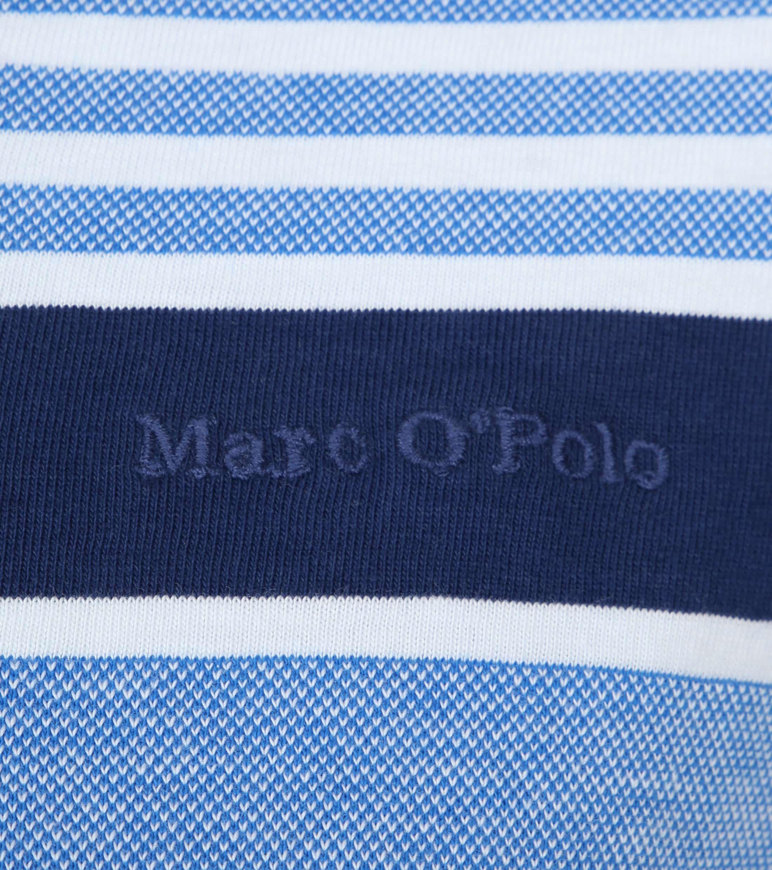 Marc O'Polo Polo Strepen Blauw foto 1