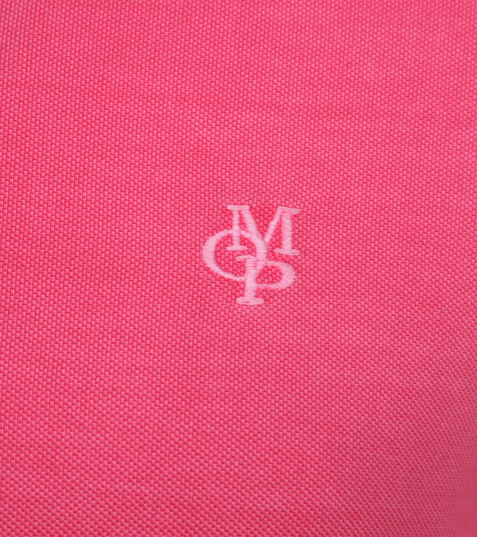 Marc O'Polo Poloshirt Garment Dyed Ibis Pink foto 2