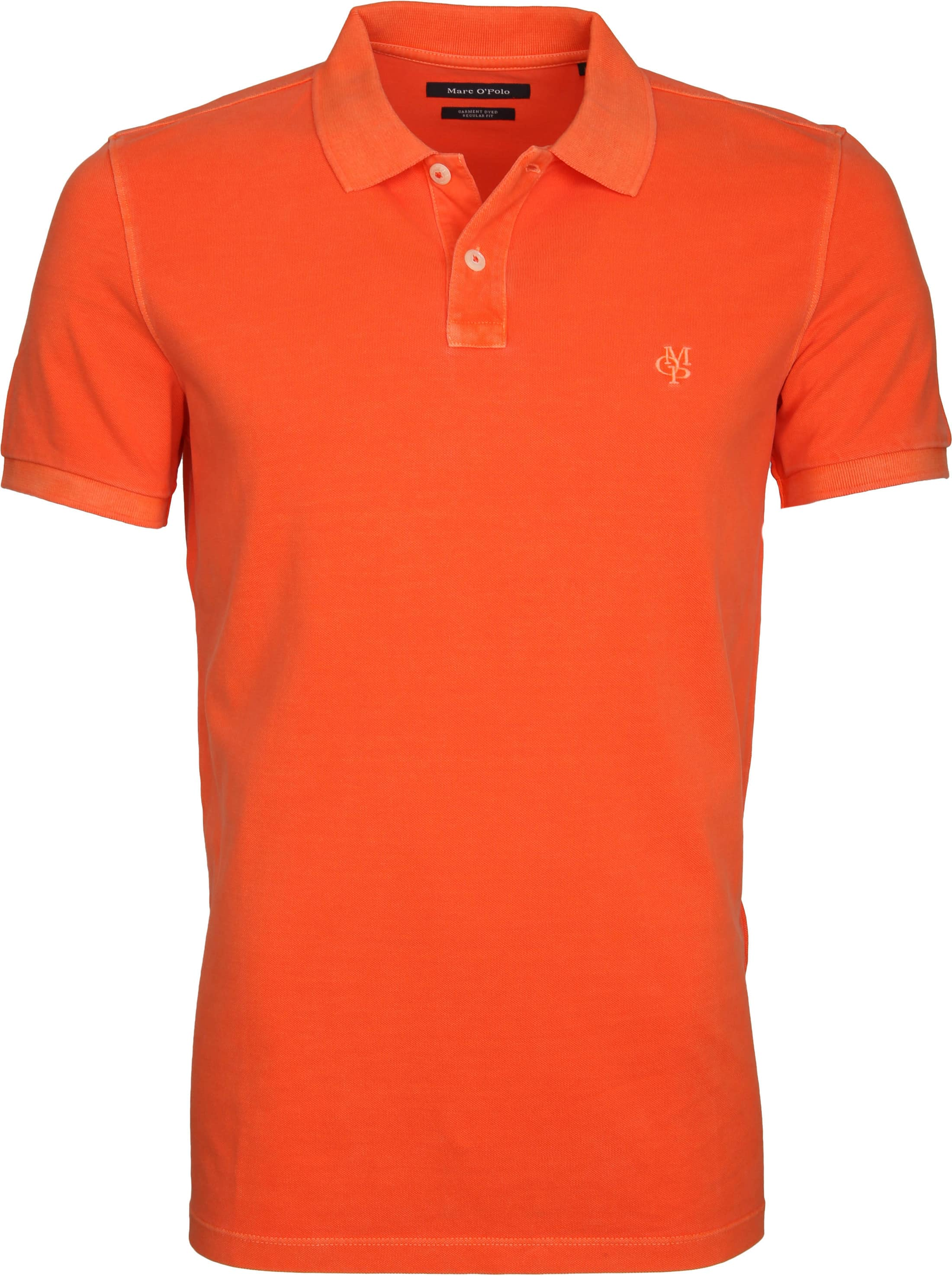 Marc O'Polo Poloshirt Garment Dyed Orange foto 0