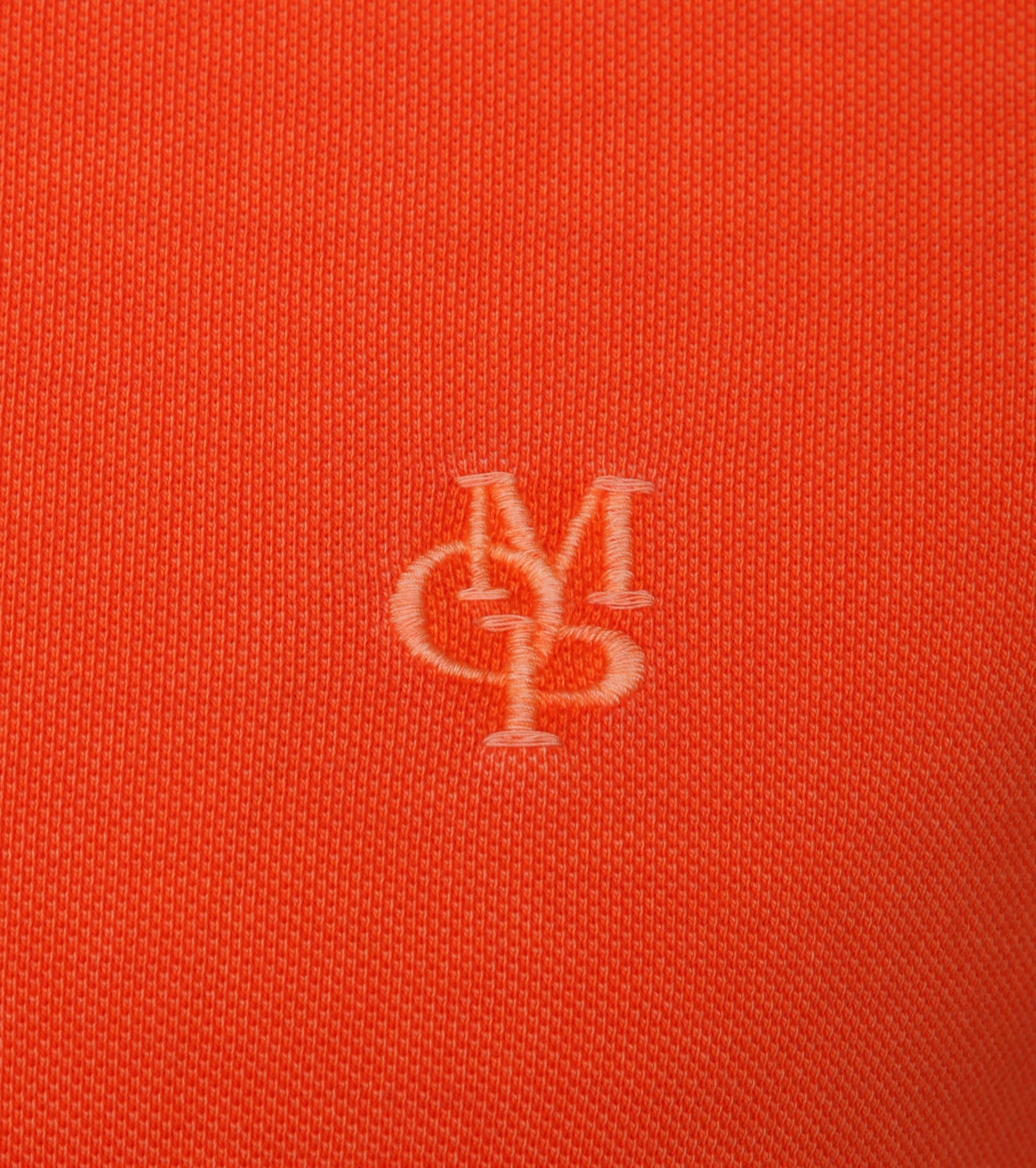 Marc O'Polo Poloshirt Garment Dyed Orange foto 1