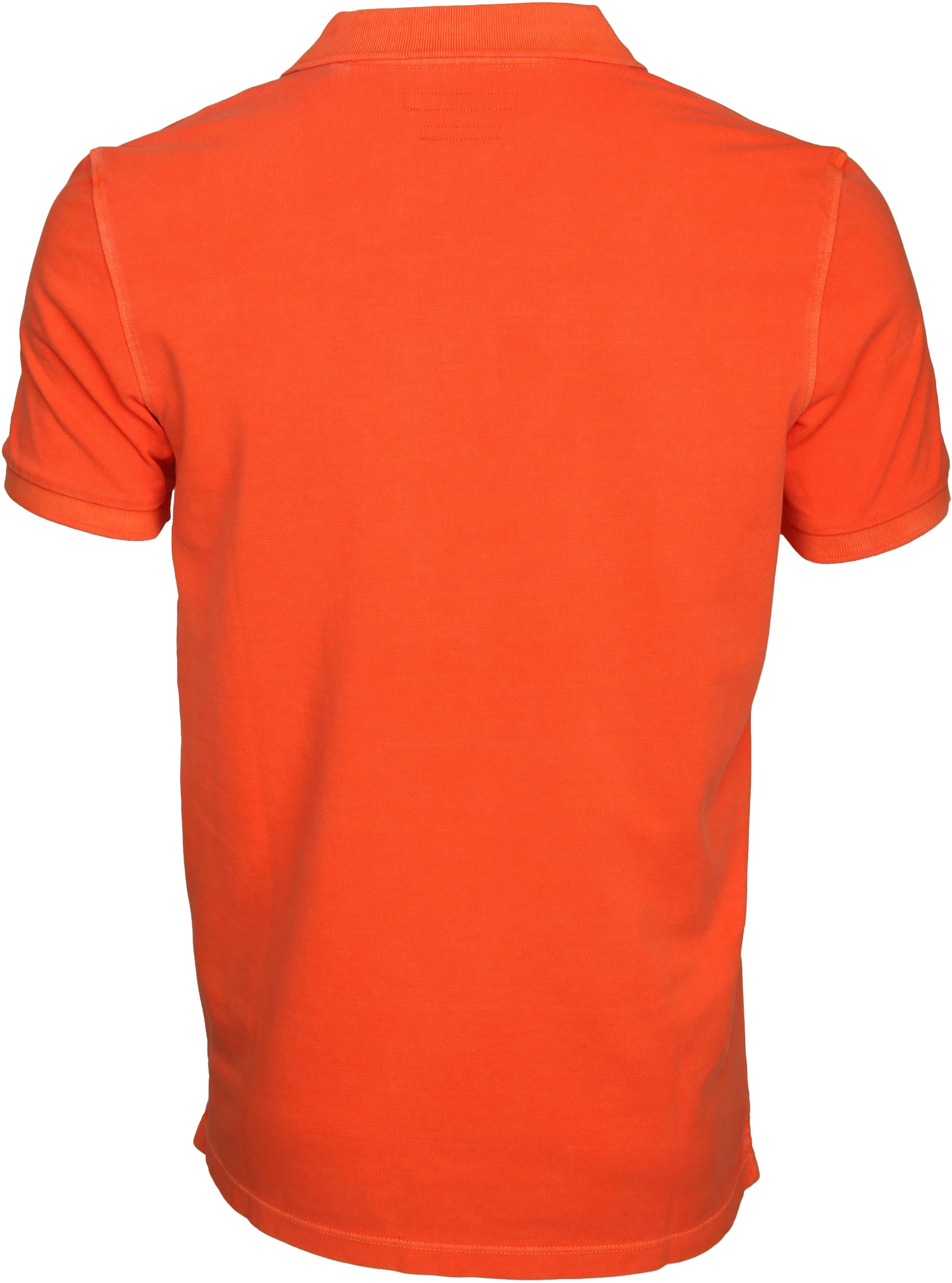 Marc O'Polo Poloshirt Garment Dyed Orange foto 2