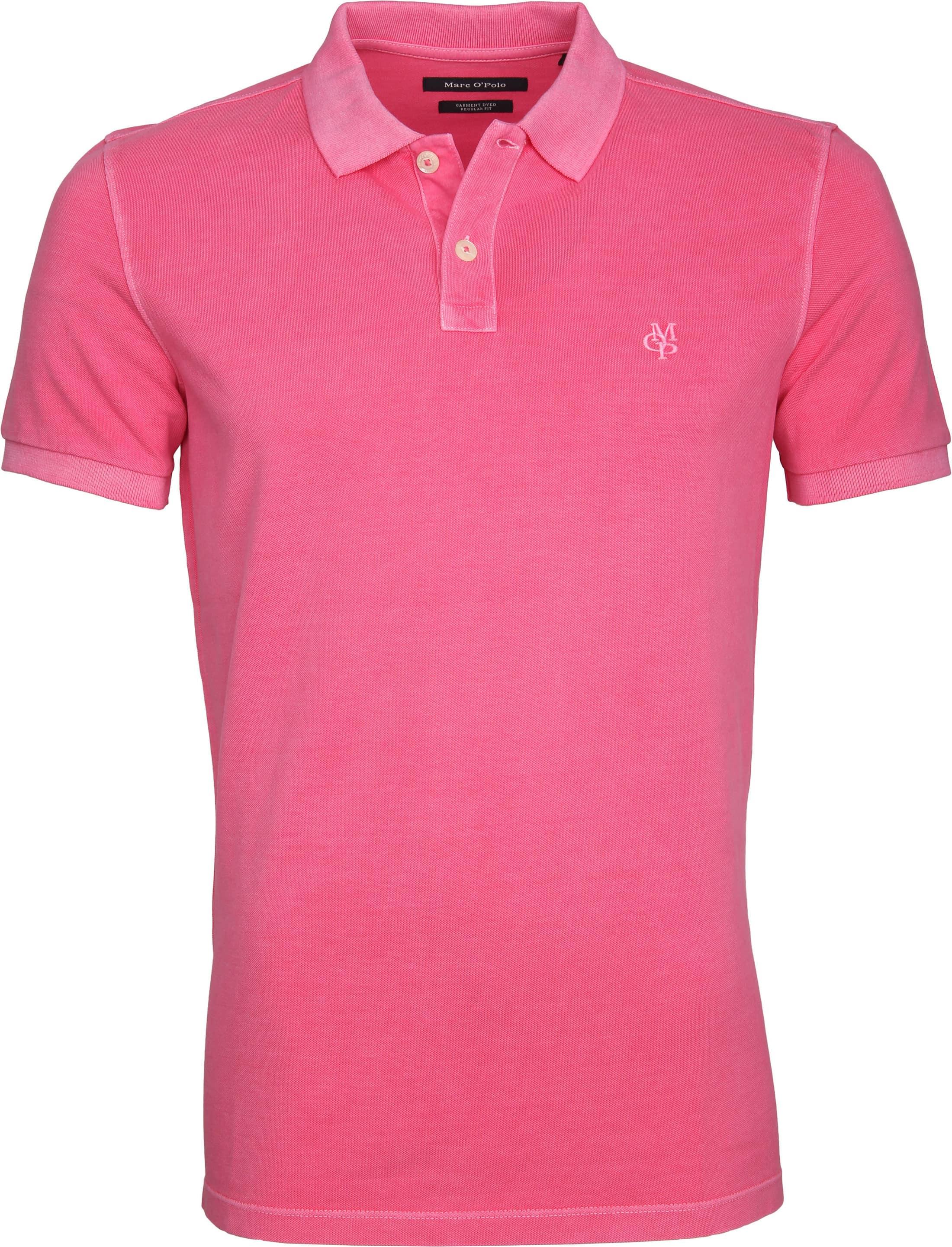 Marc O'Polo Poloshirt Garment Dyed Rosa foto 0