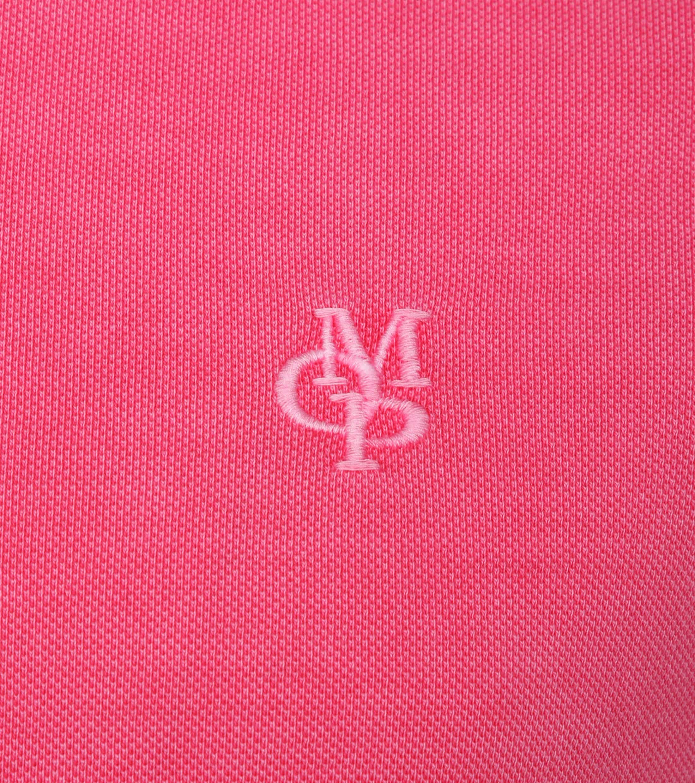 Marc O'Polo Poloshirt Garment Dyed Rosa foto 1