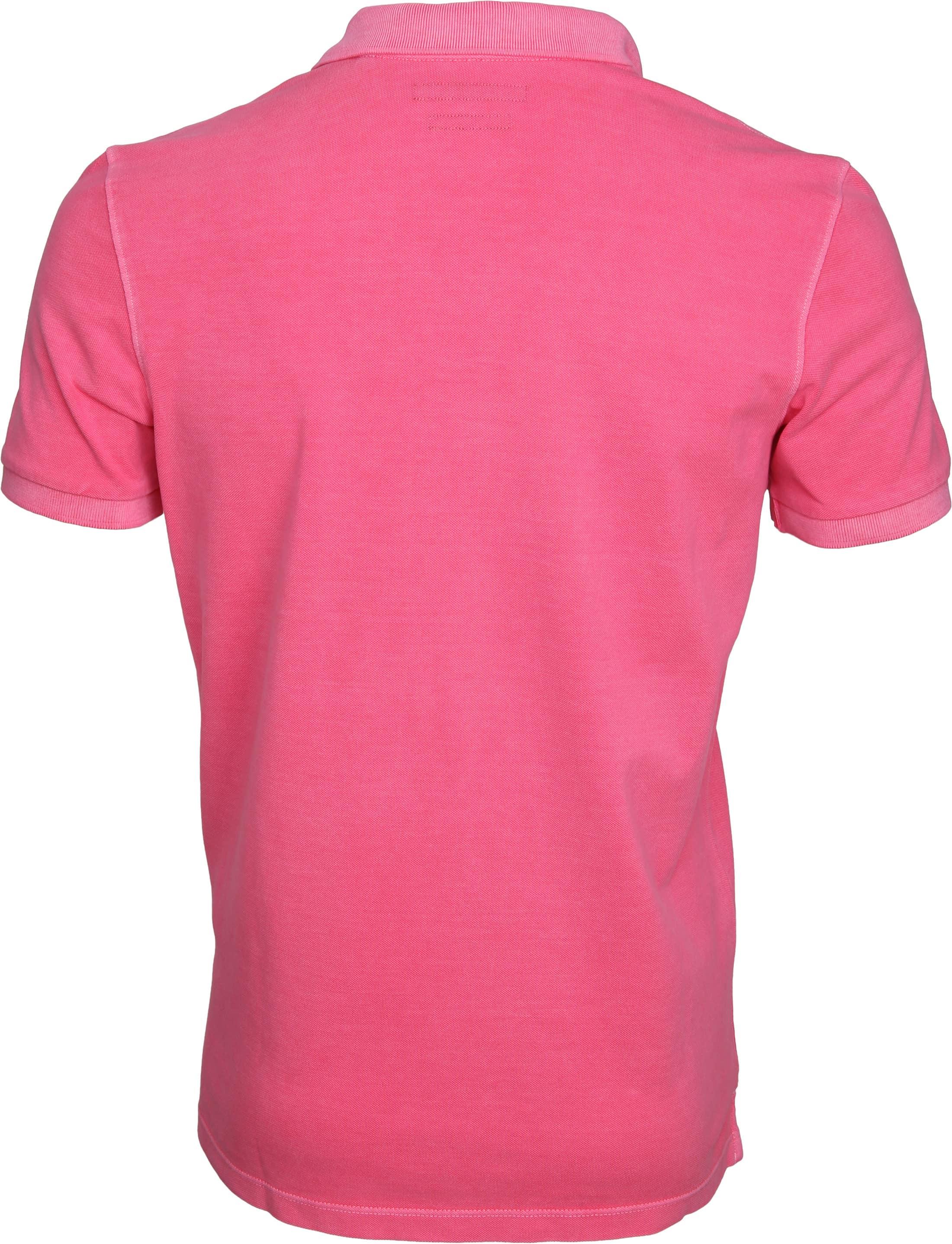 Marc O'Polo Poloshirt Garment Dyed Rosa foto 2