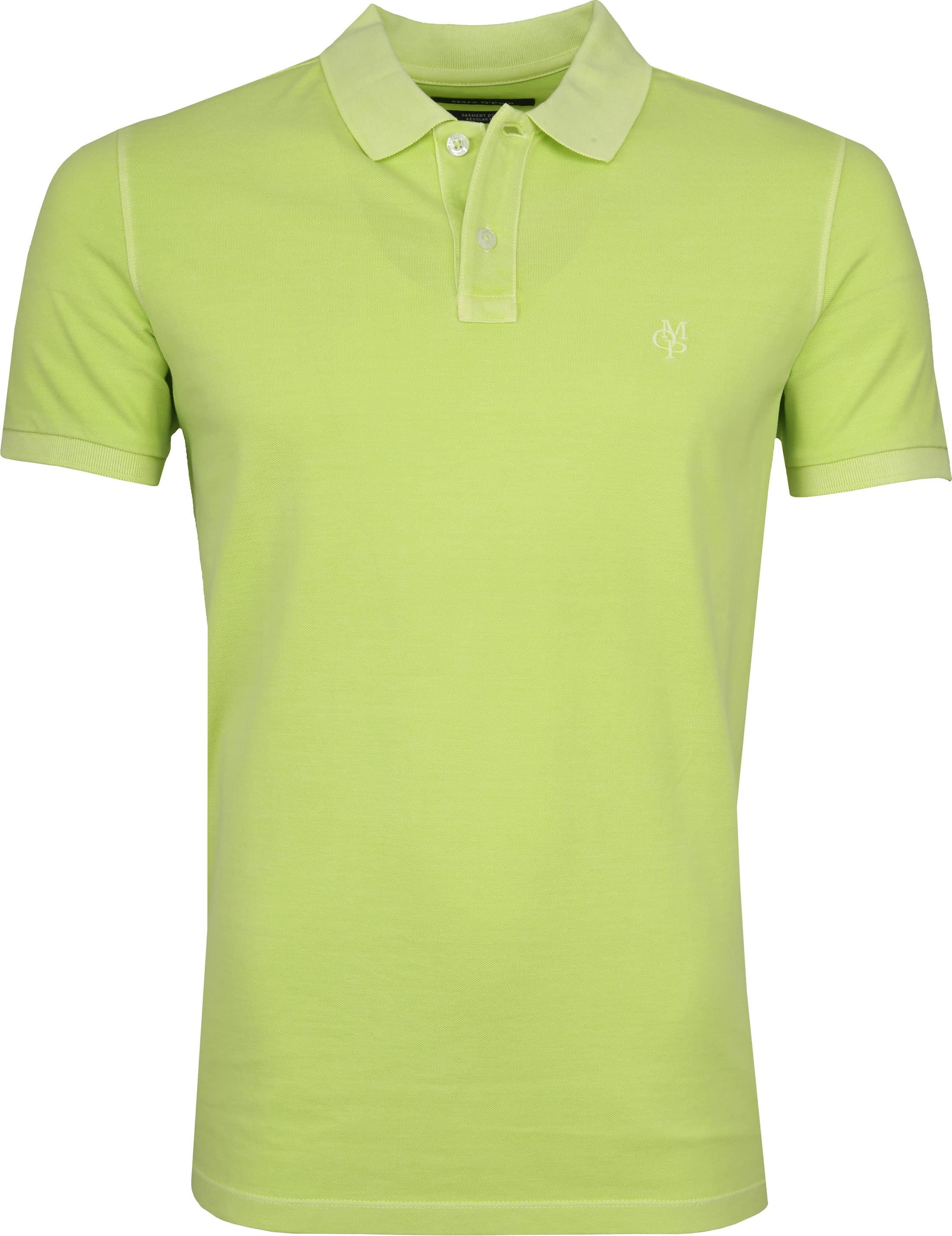 Marc O'Polo Poloshirt Garment Dyed Sharp Green foto 0