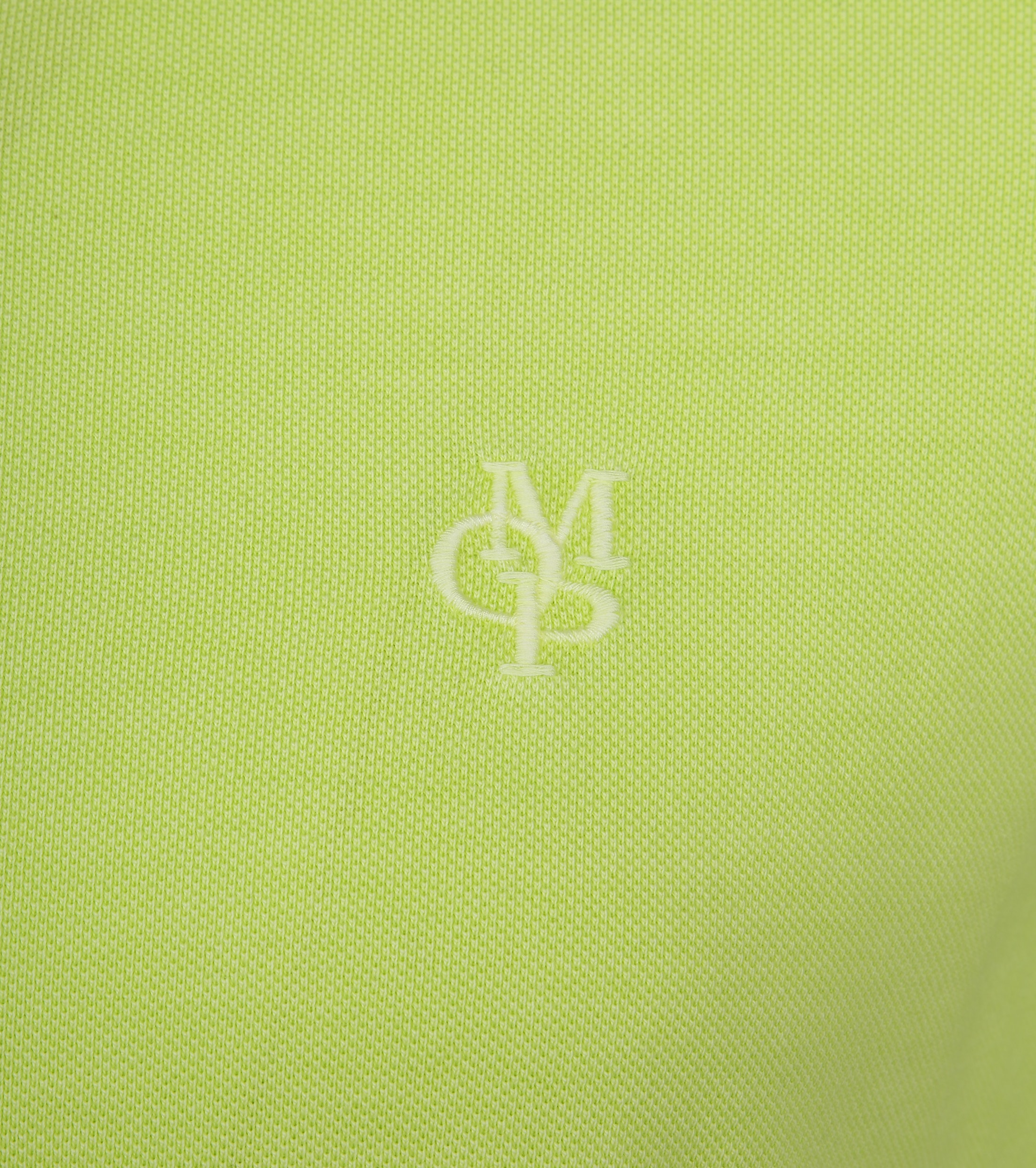 Marc O'Polo Poloshirt Garment Dyed Sharp Green foto 2