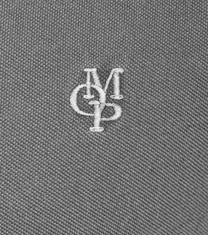 Marc O'Polo Poloshirt Uni Grijs foto 1