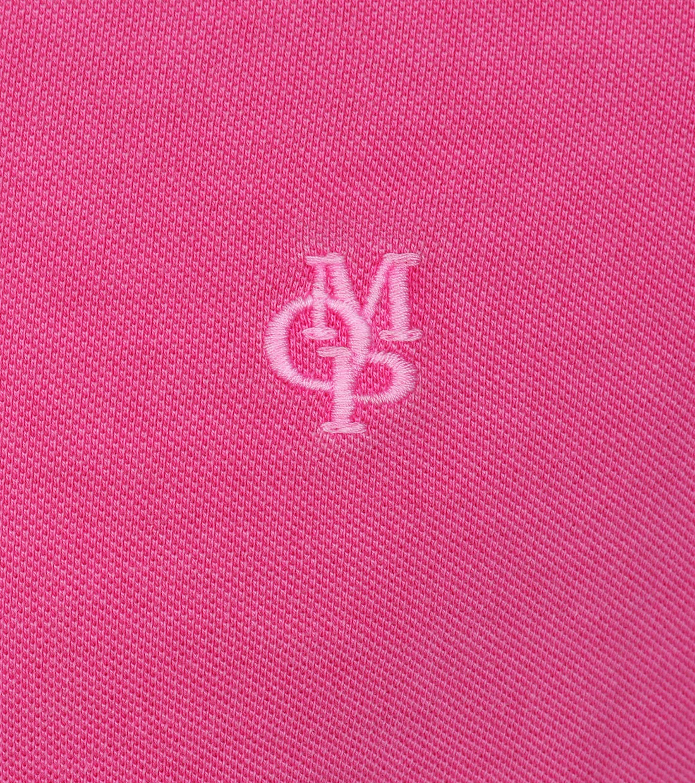 Marc O'Polo Poloshirt Uni Roze foto 1