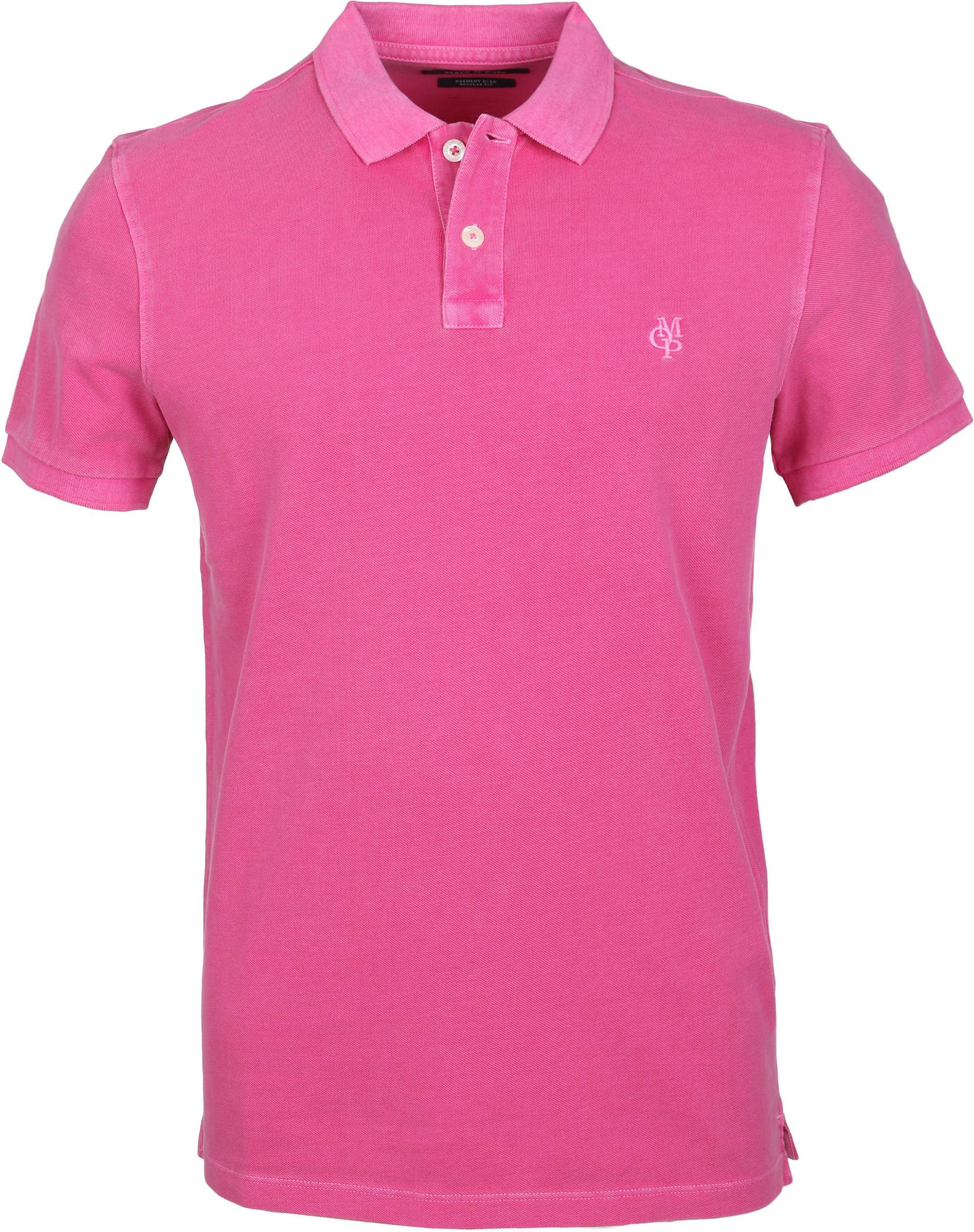 Marc O'Polo Poloshirt Uni Roze foto 0