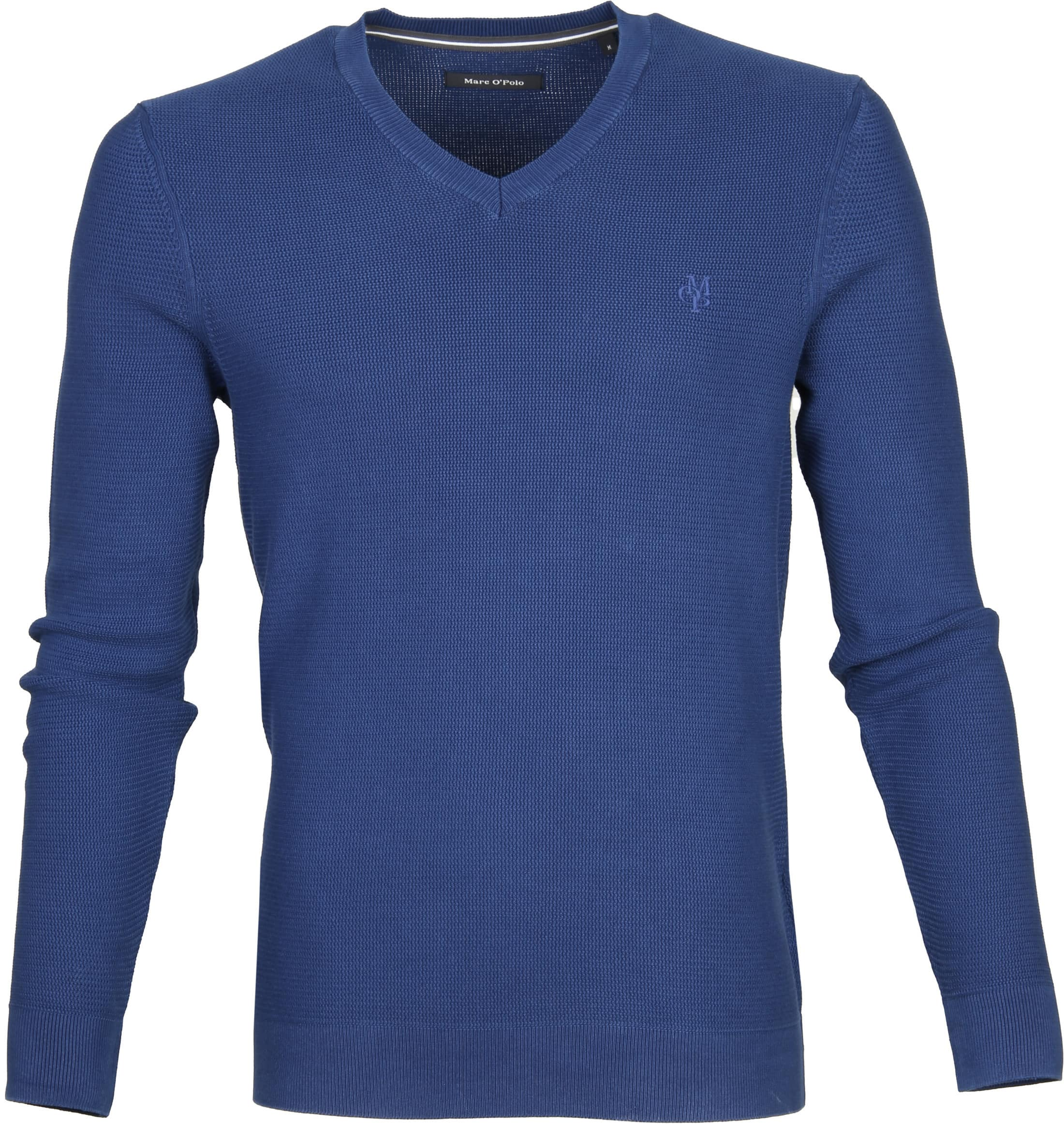 Marc O'Polo Pullover Blauw Katoen foto 0