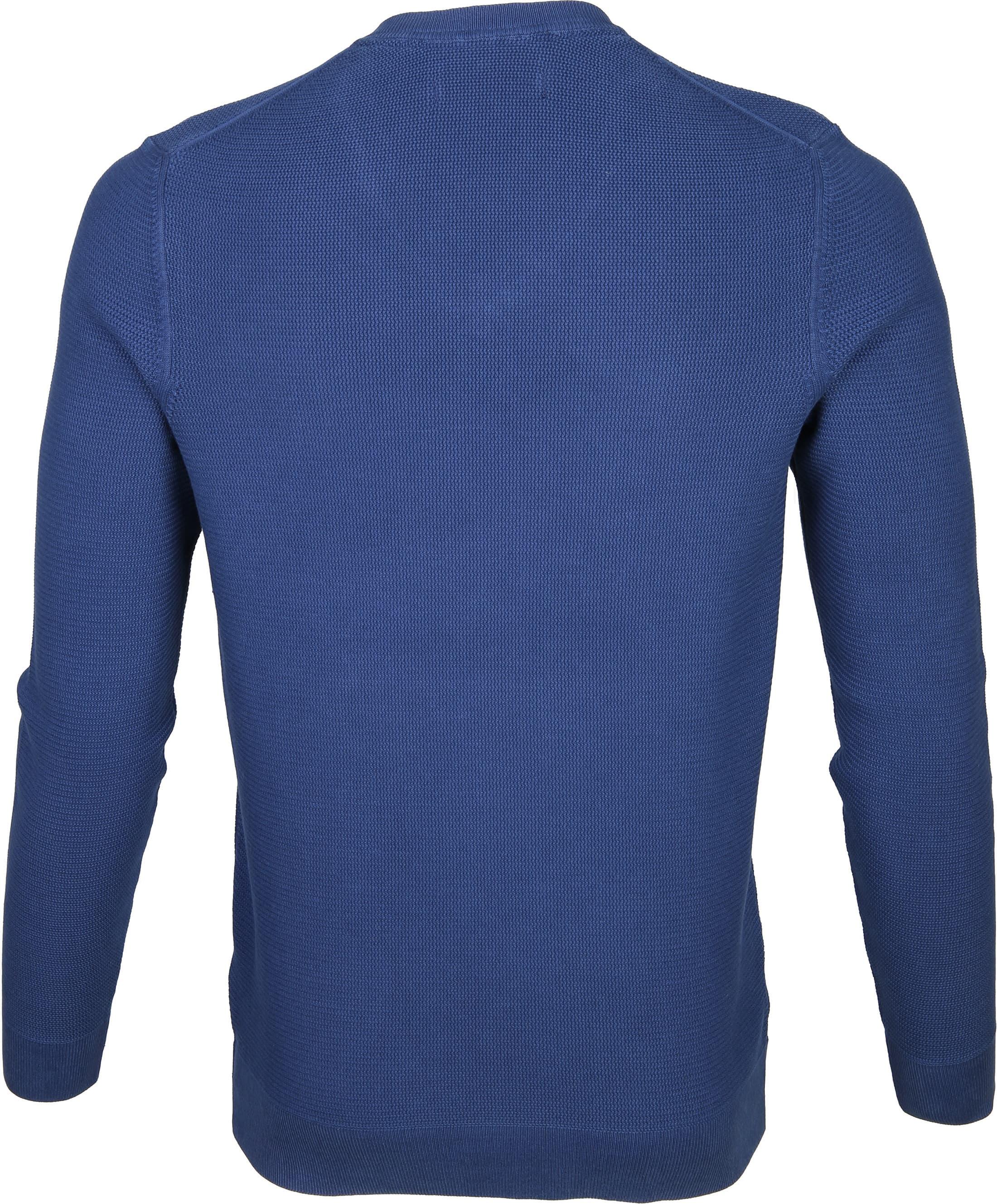 Marc O'Polo Pullover Blauw Katoen foto 2