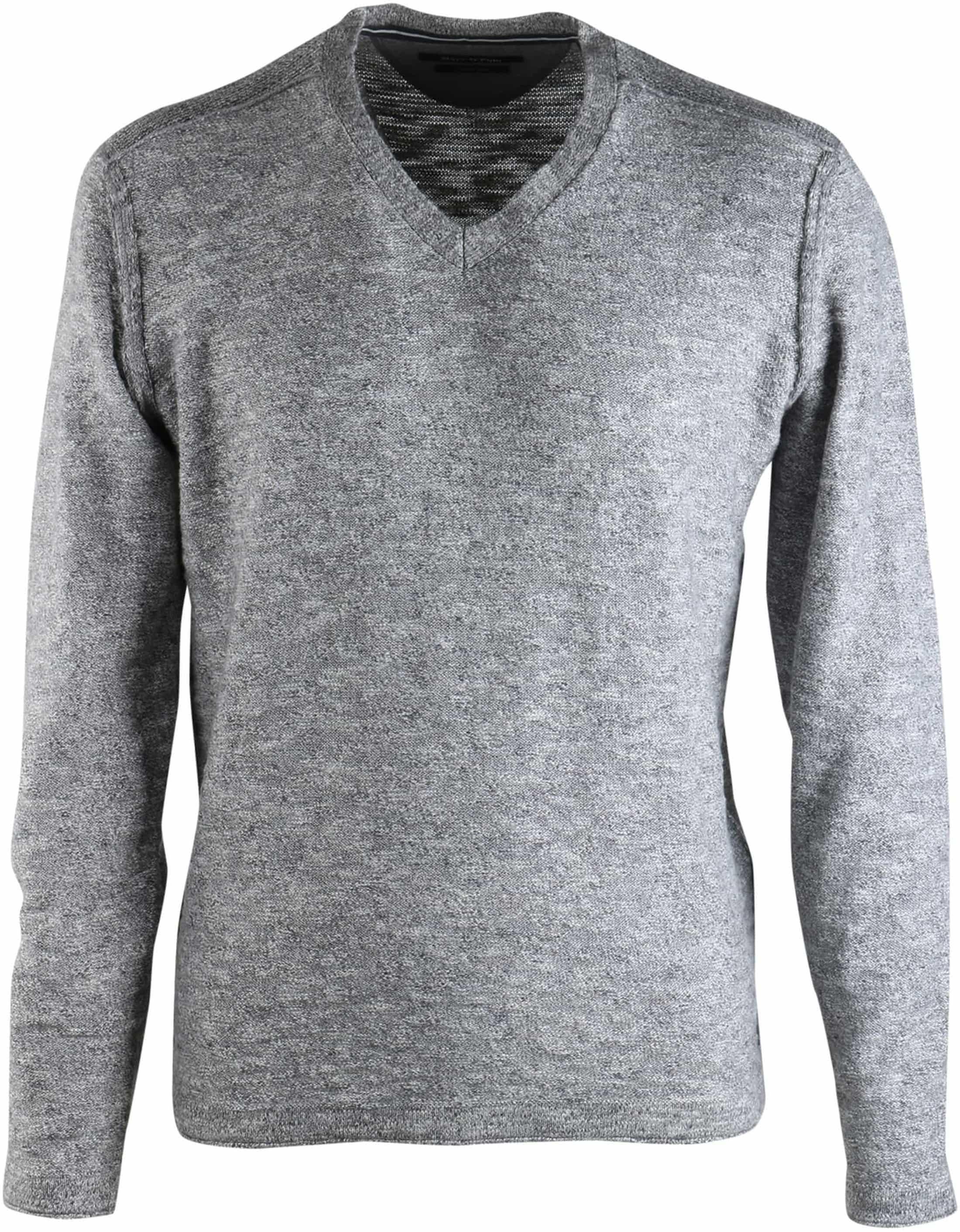 Marc O'Polo Pullover V-Hals Grau foto 0