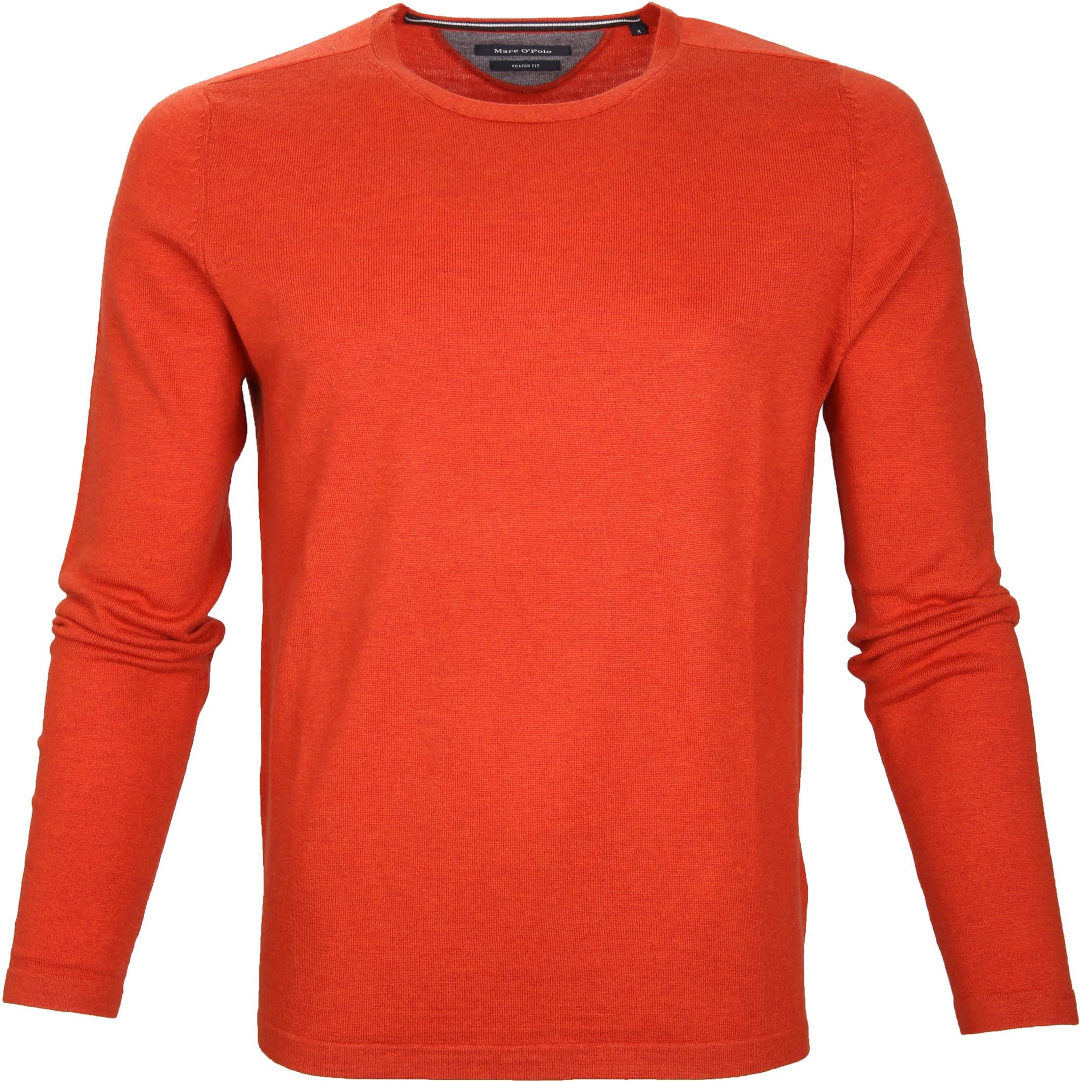 Marc O'Polo Pullover Wol Oranje foto 0