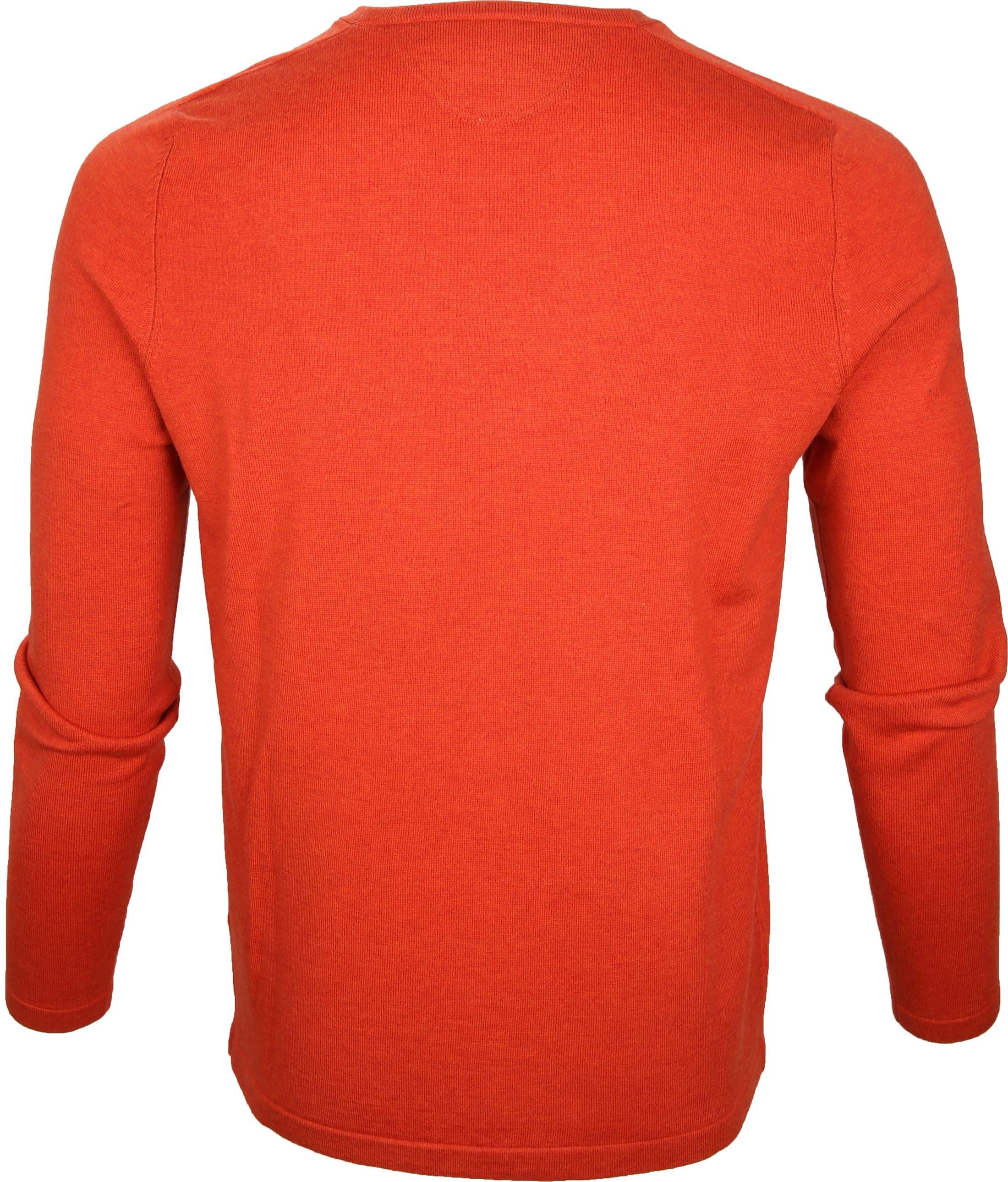 Marc O'Polo Pullover Wol Oranje foto 2