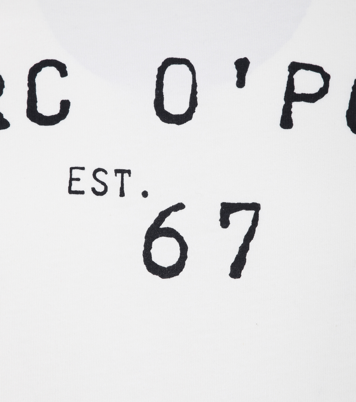 Marc O'Polo T-Shirt Logo Weiß foto 1