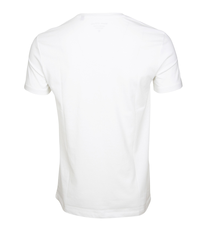 Marc O'Polo T-Shirt Logo Weiß foto 2