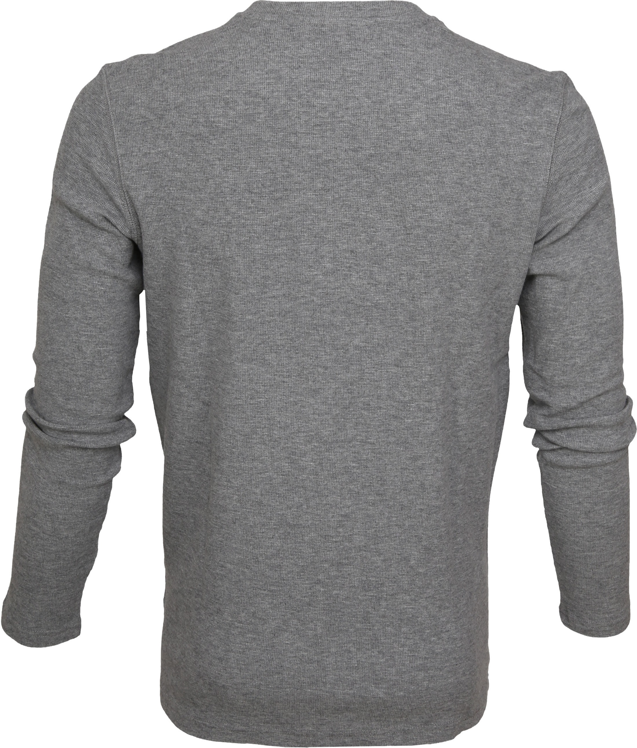 Marc O'Polo T-shirt Longsleeve Grijs foto 2