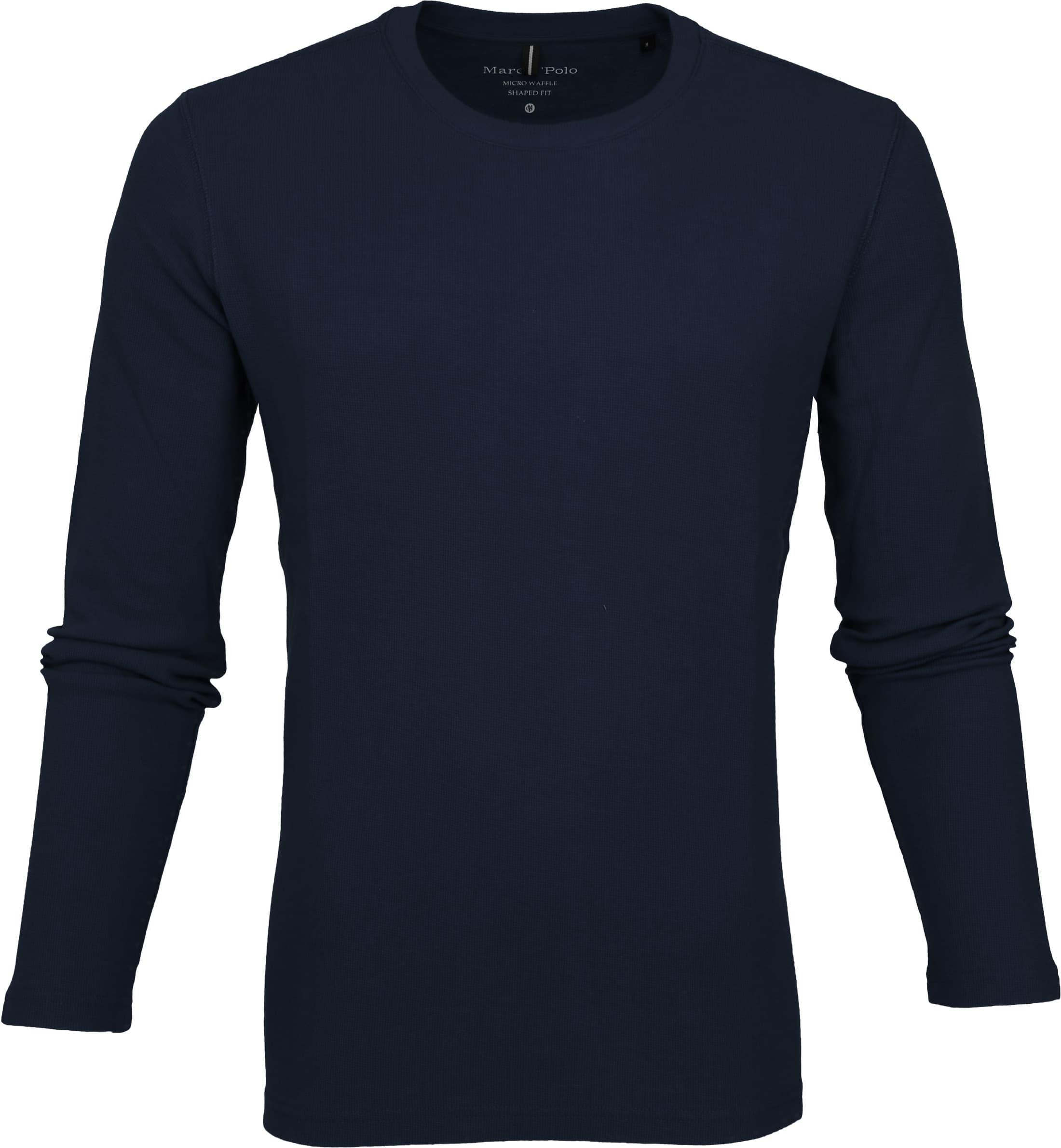cc885b2f69e035 Marc O'Polo T-shirt Longsleeve Navy 927229052028 order online   Suitable