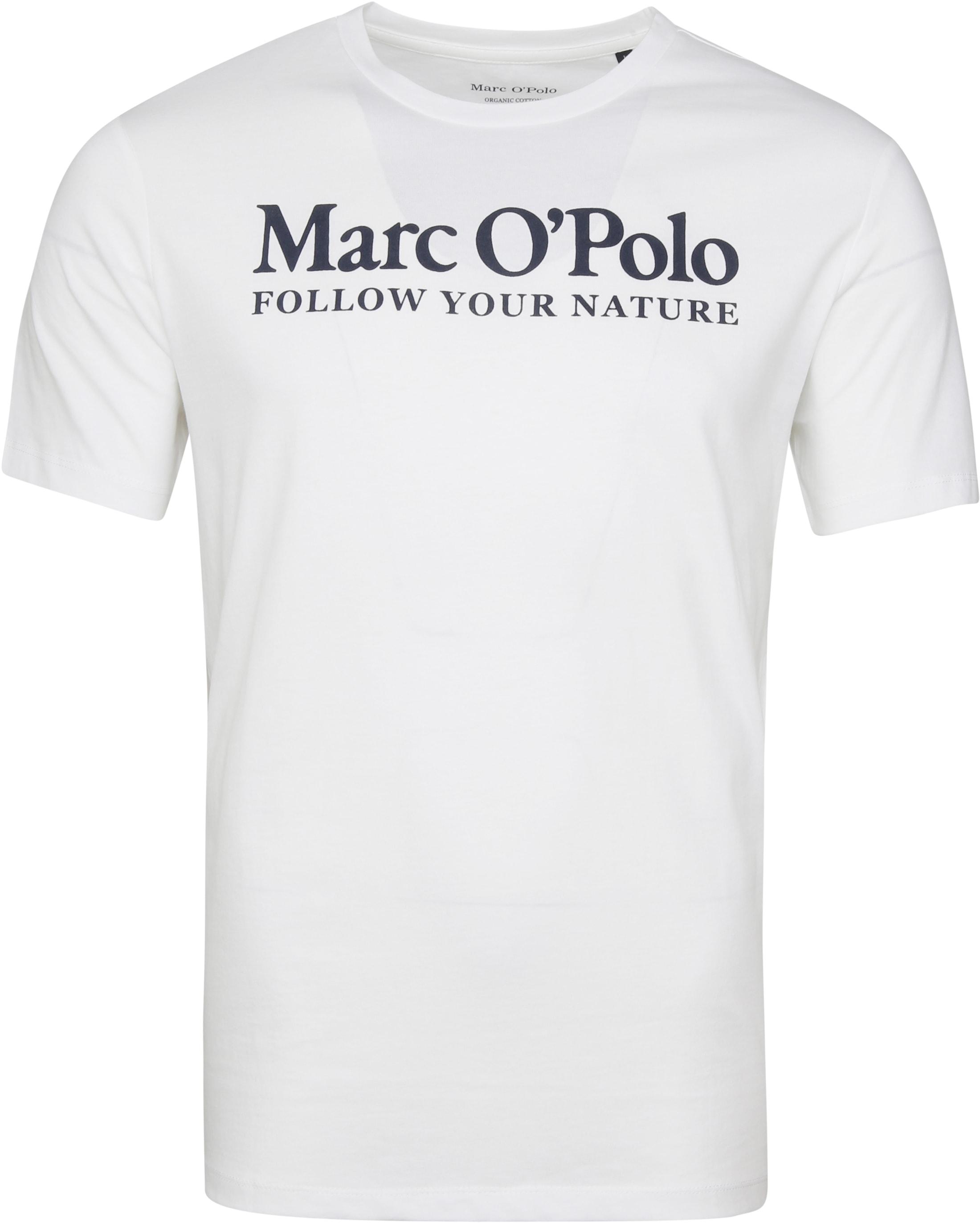 Marc O'Polo T-Shirt Nature White foto 0