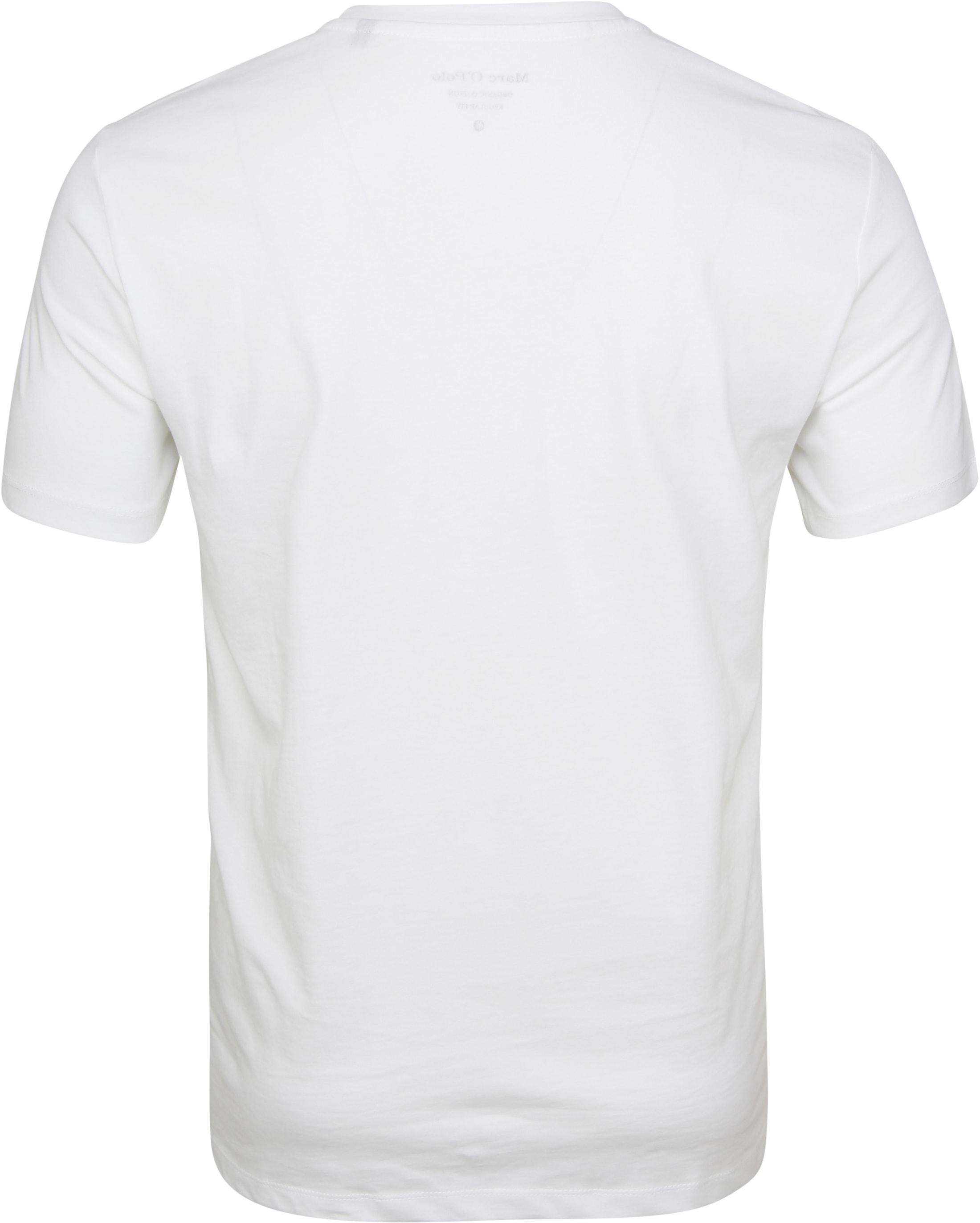 Marc O'Polo T-Shirt Nature White foto 2