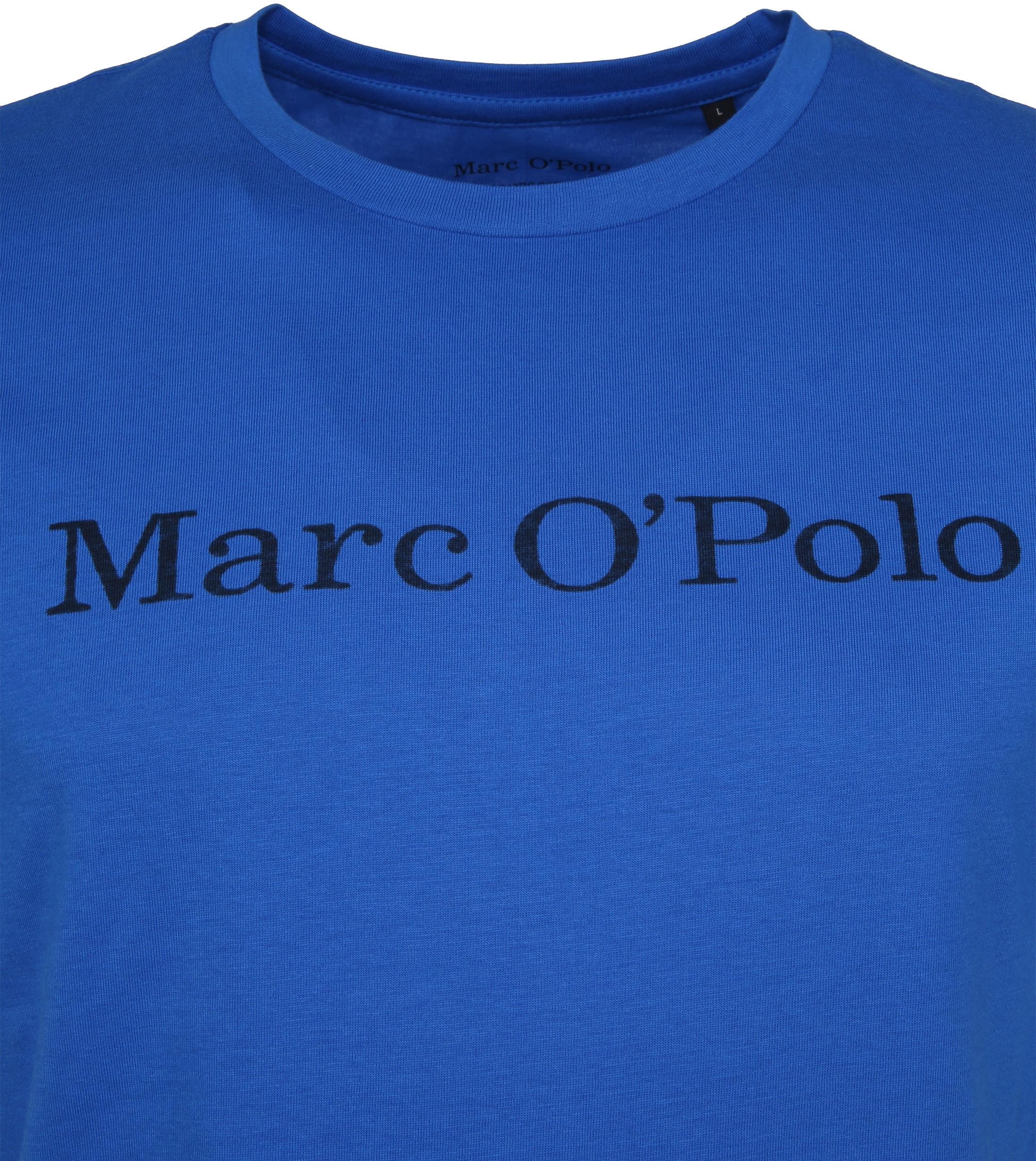 Marc O'Polo T-Shirt Victoria Blau foto 1