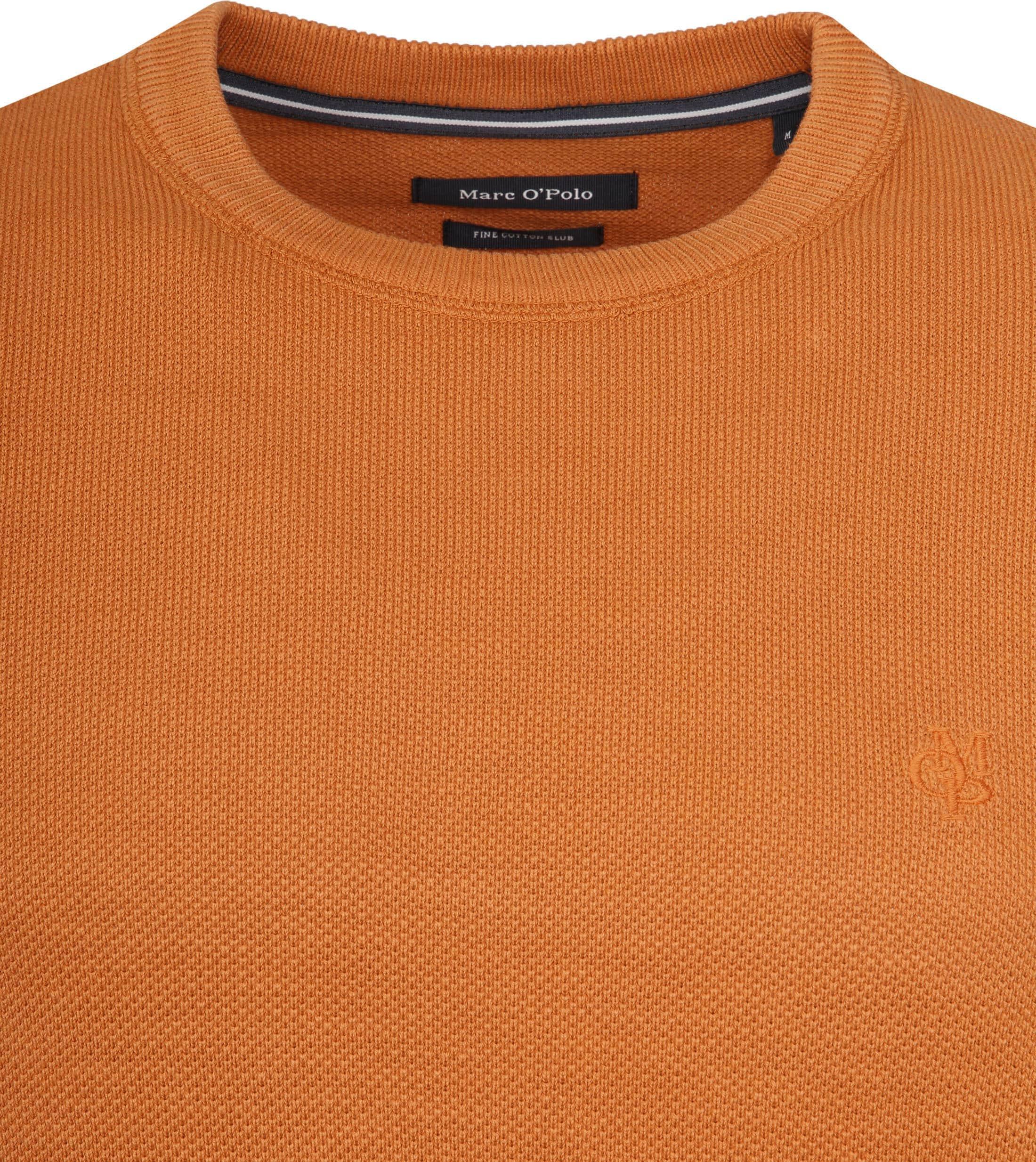 Marc O'Polo Trui Dessin Oranje foto 1