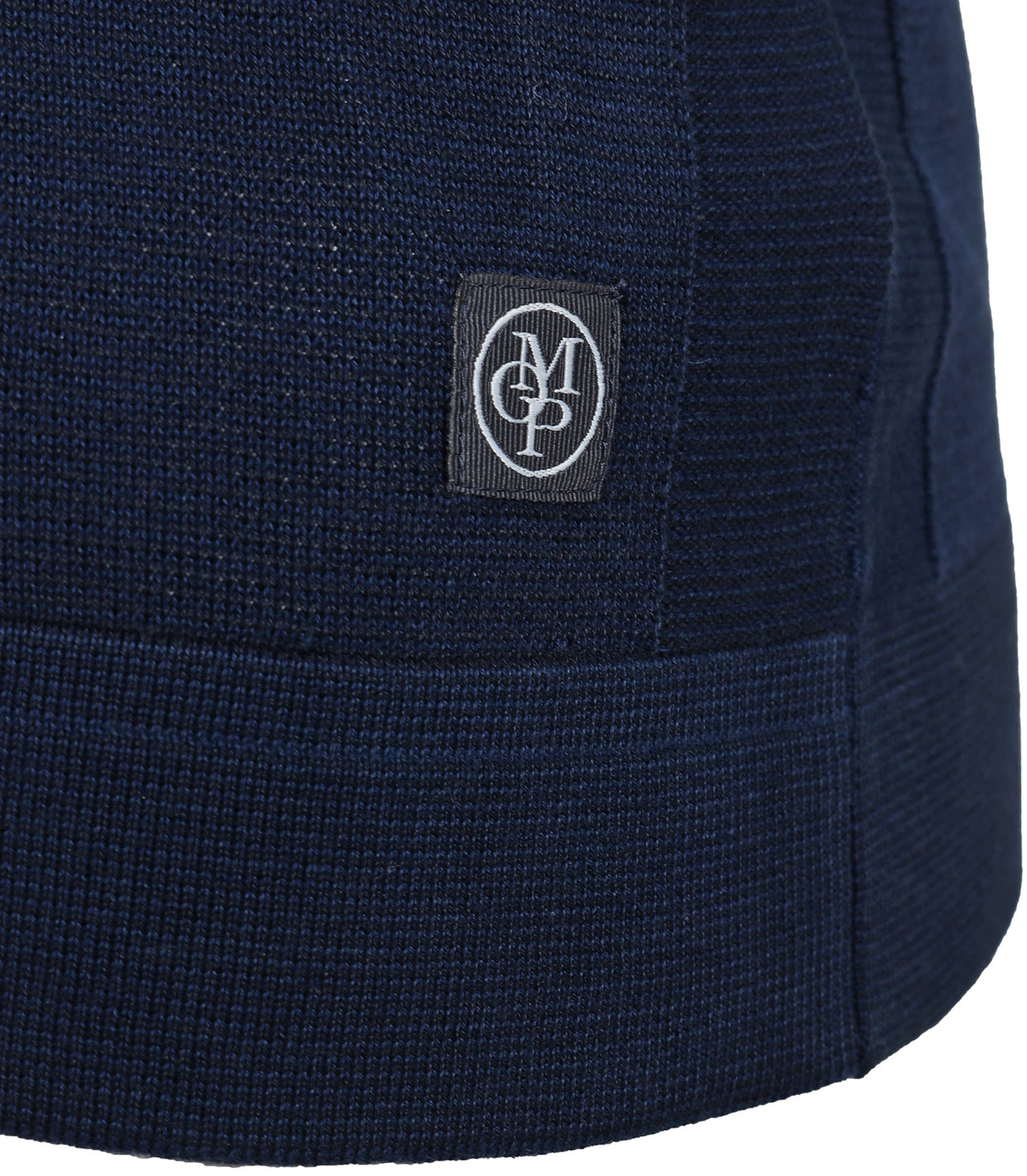 Marc O'Polo Vest rits donkerblauw foto 3
