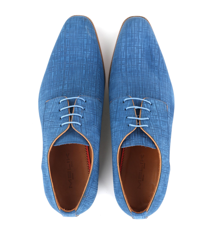 Melik Schoenen Matrix Blauw foto 2