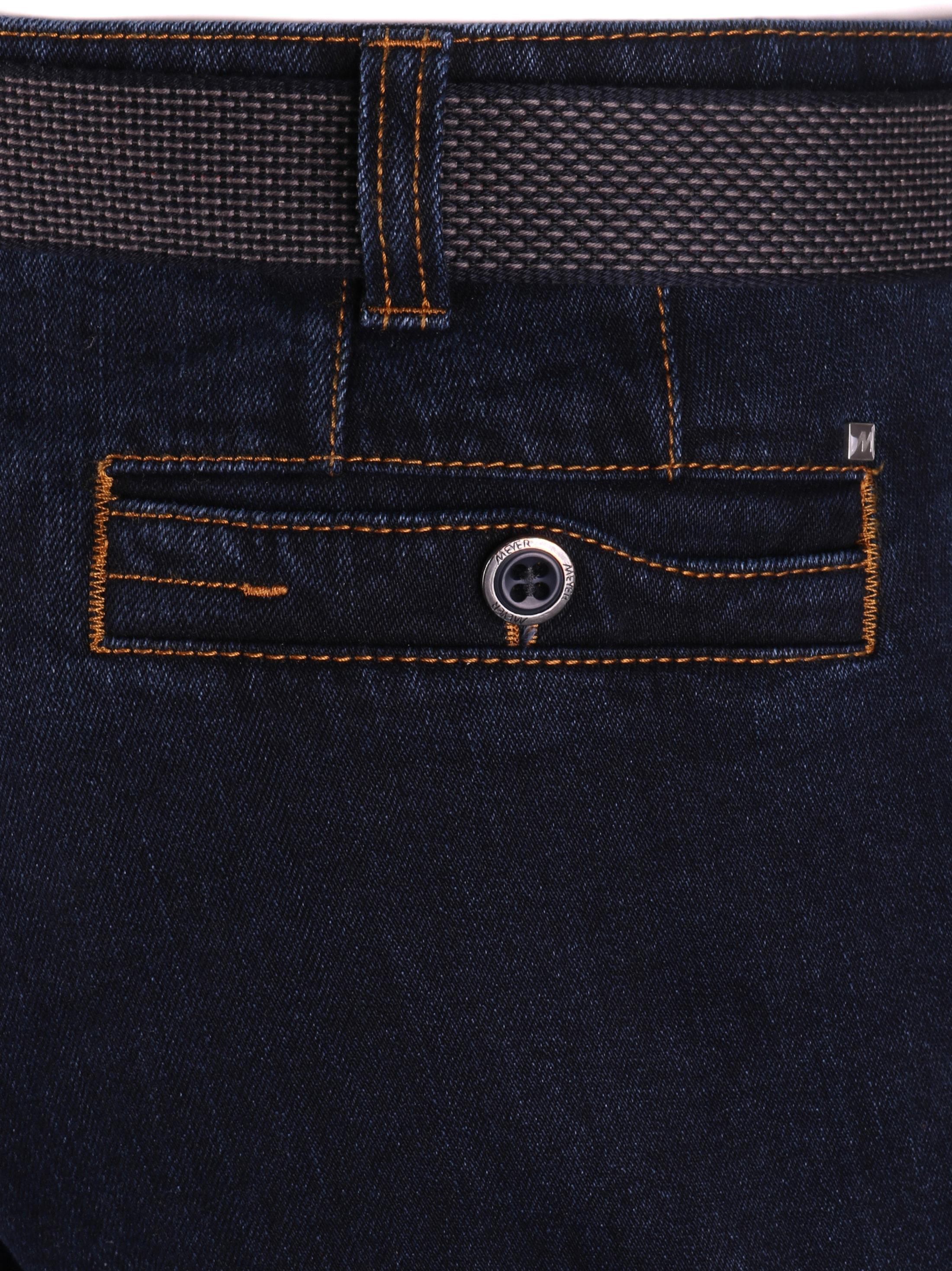 Meyer Jeans Diego Blauw foto 4