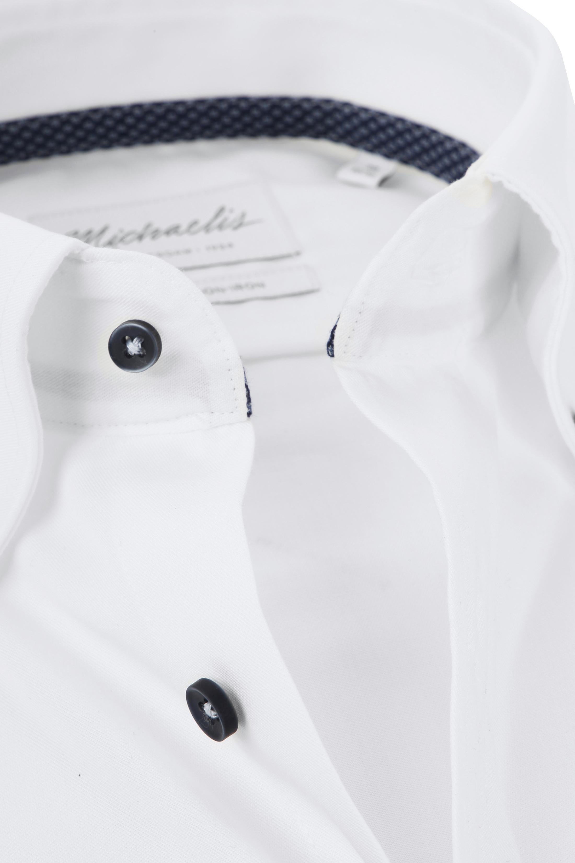 Michaelis Overhemd Button Down Wit foto 1