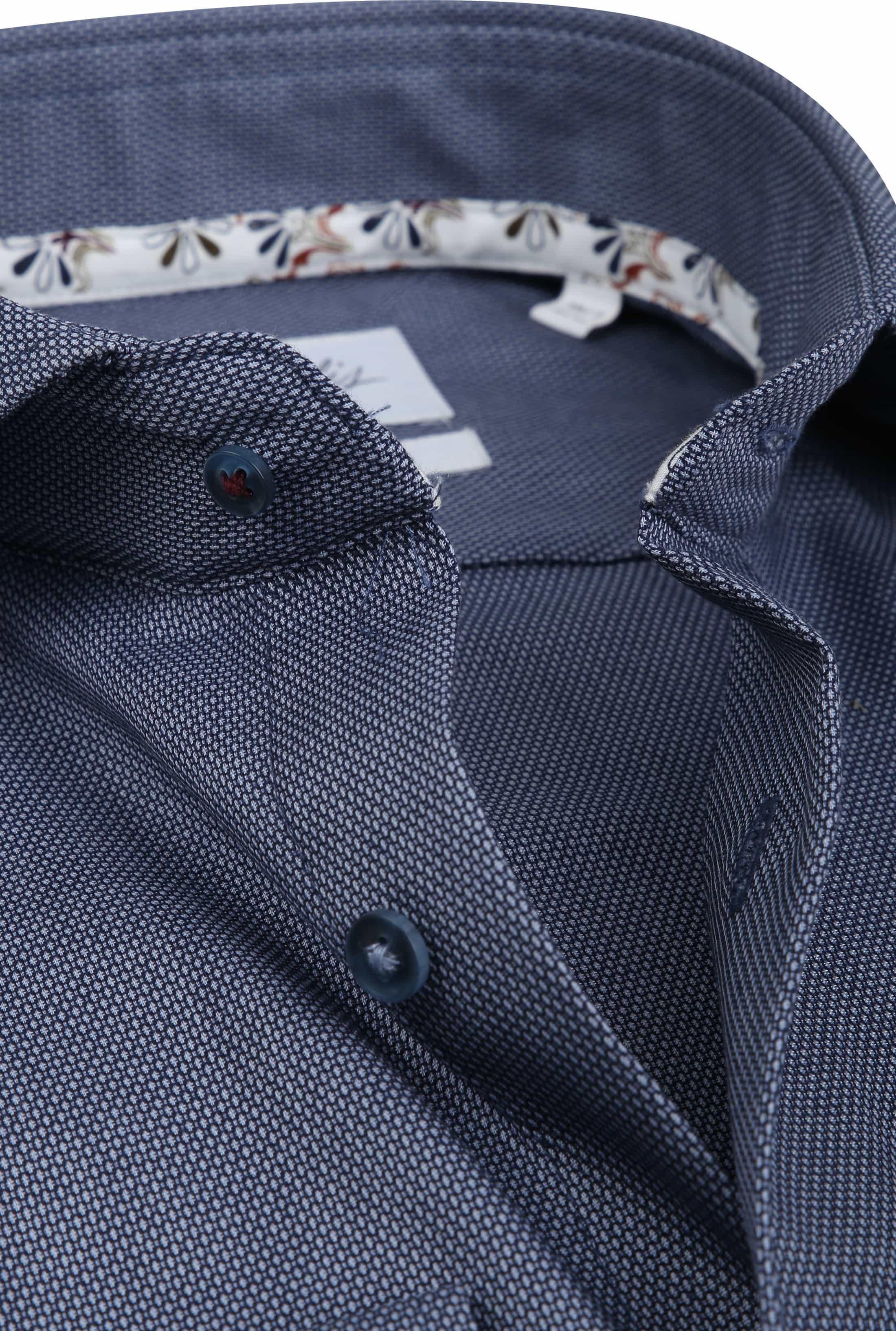 Michaelis Overhemd SF Navy SL7 foto 1
