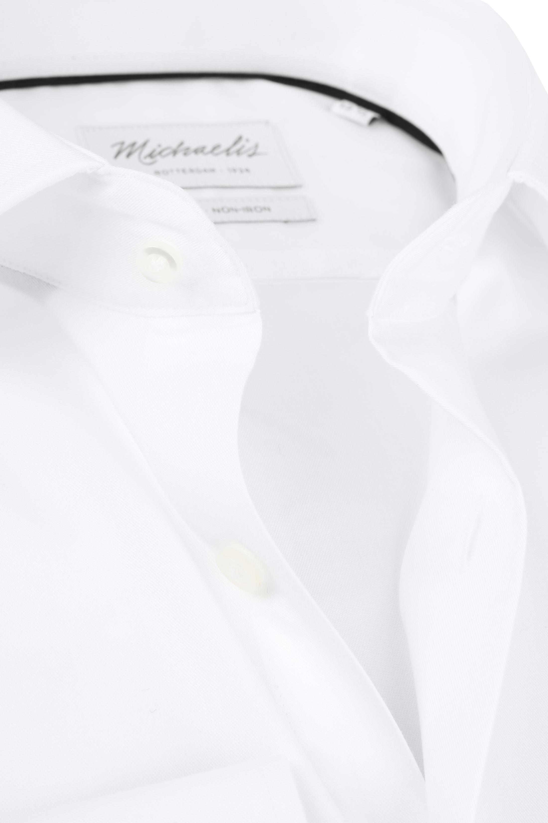 Michaelis Overhemd Slim Fit Wit foto 2
