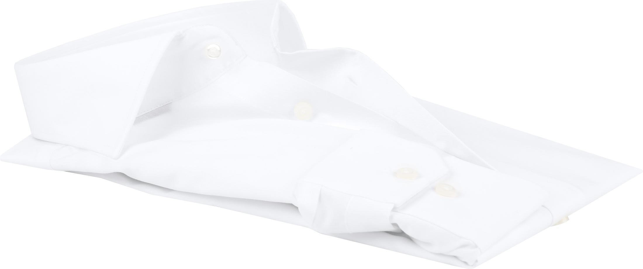 Michaelis Overhemd Slim Fit Wit foto 4