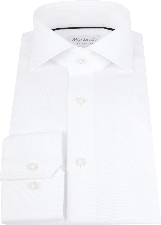Michaelis Overhemd Slim Fit Wit foto 3