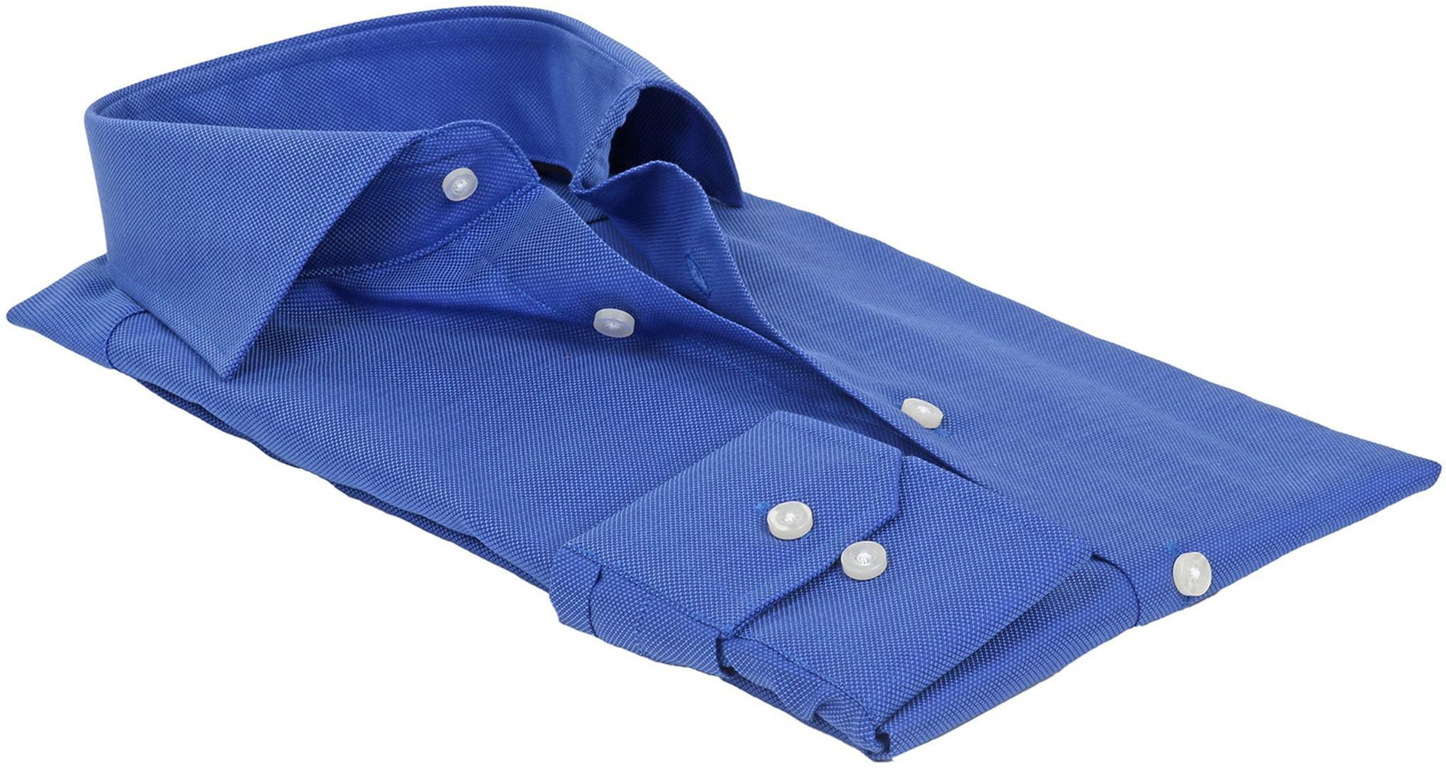 Michaelis Overhemd SlimFit Blauw foto 2