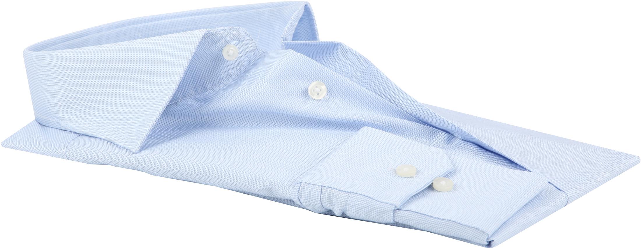Michaelis Overhemd SlimFit Blue Dessin foto 4