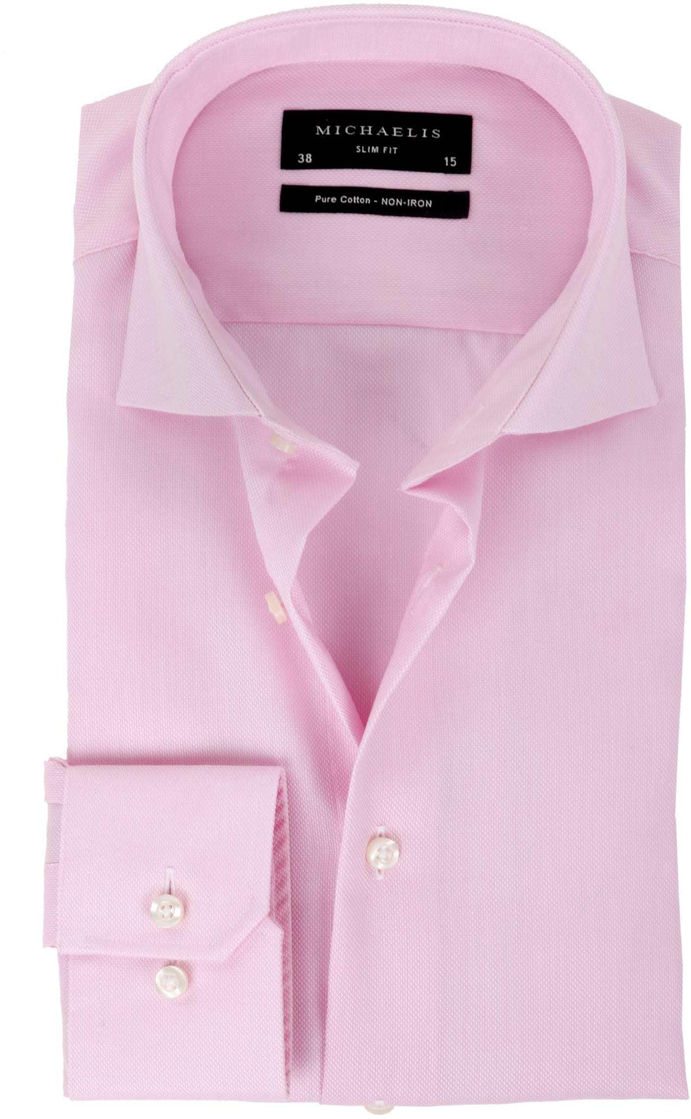 Michaelis Overhemd SlimFit Roze foto 0
