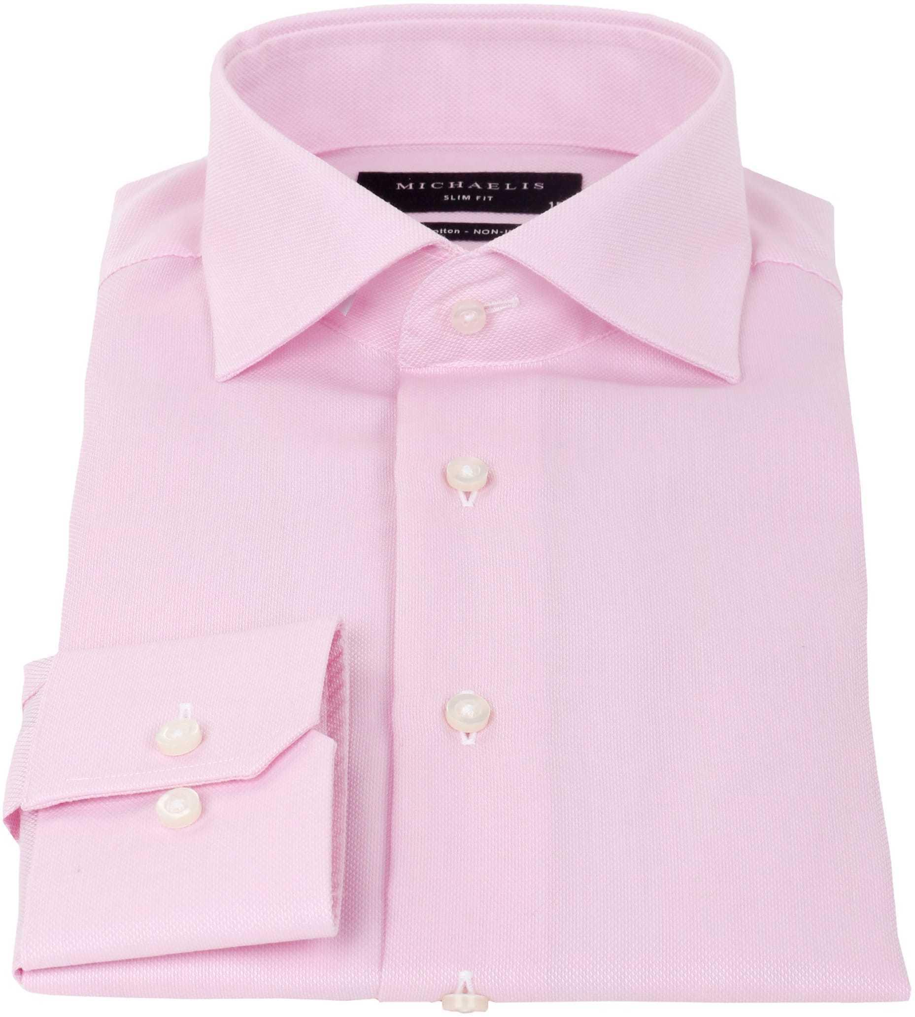 Michaelis Overhemd SlimFit Roze foto 1