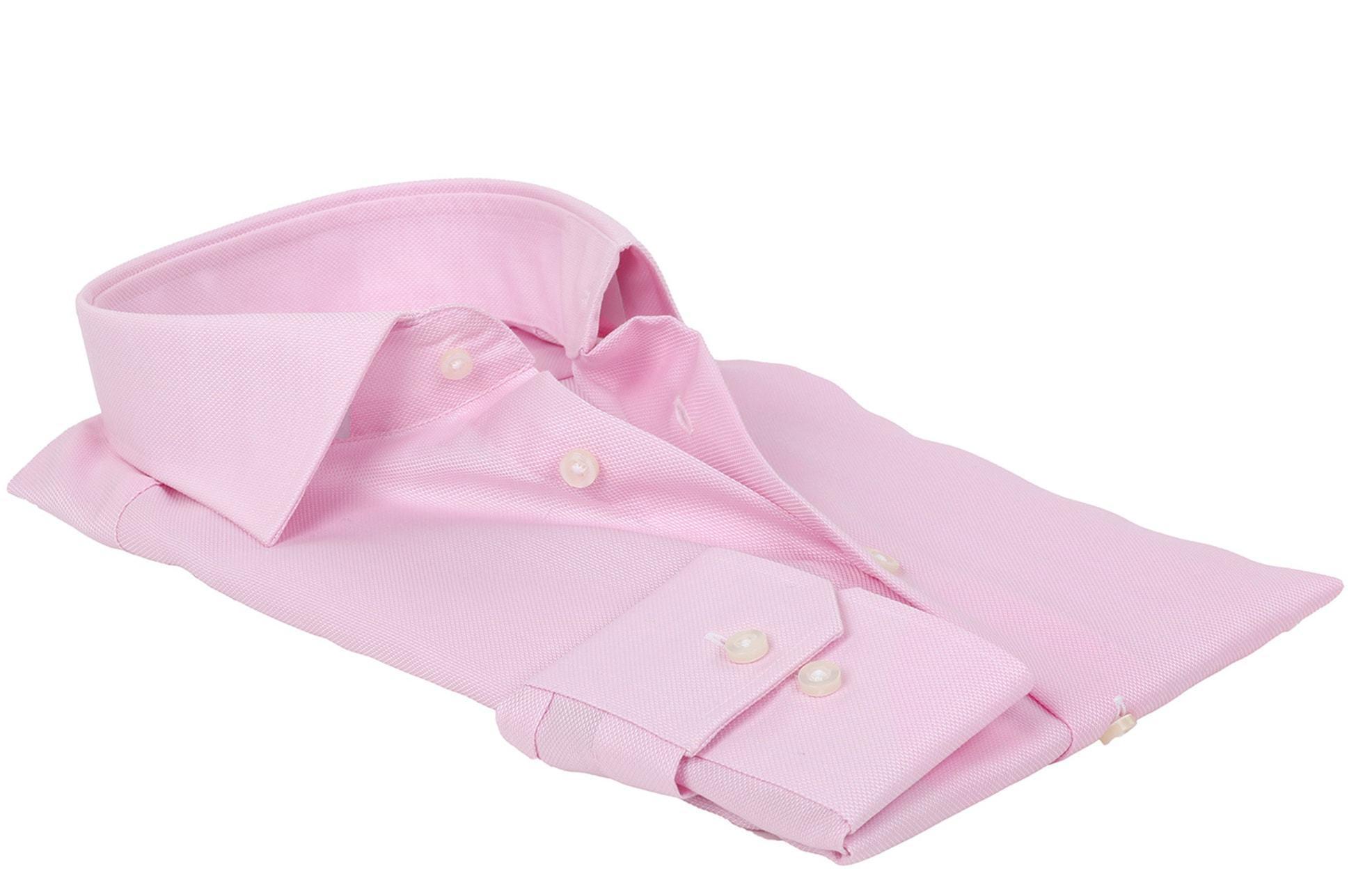 Michaelis Overhemd SlimFit Roze foto 2