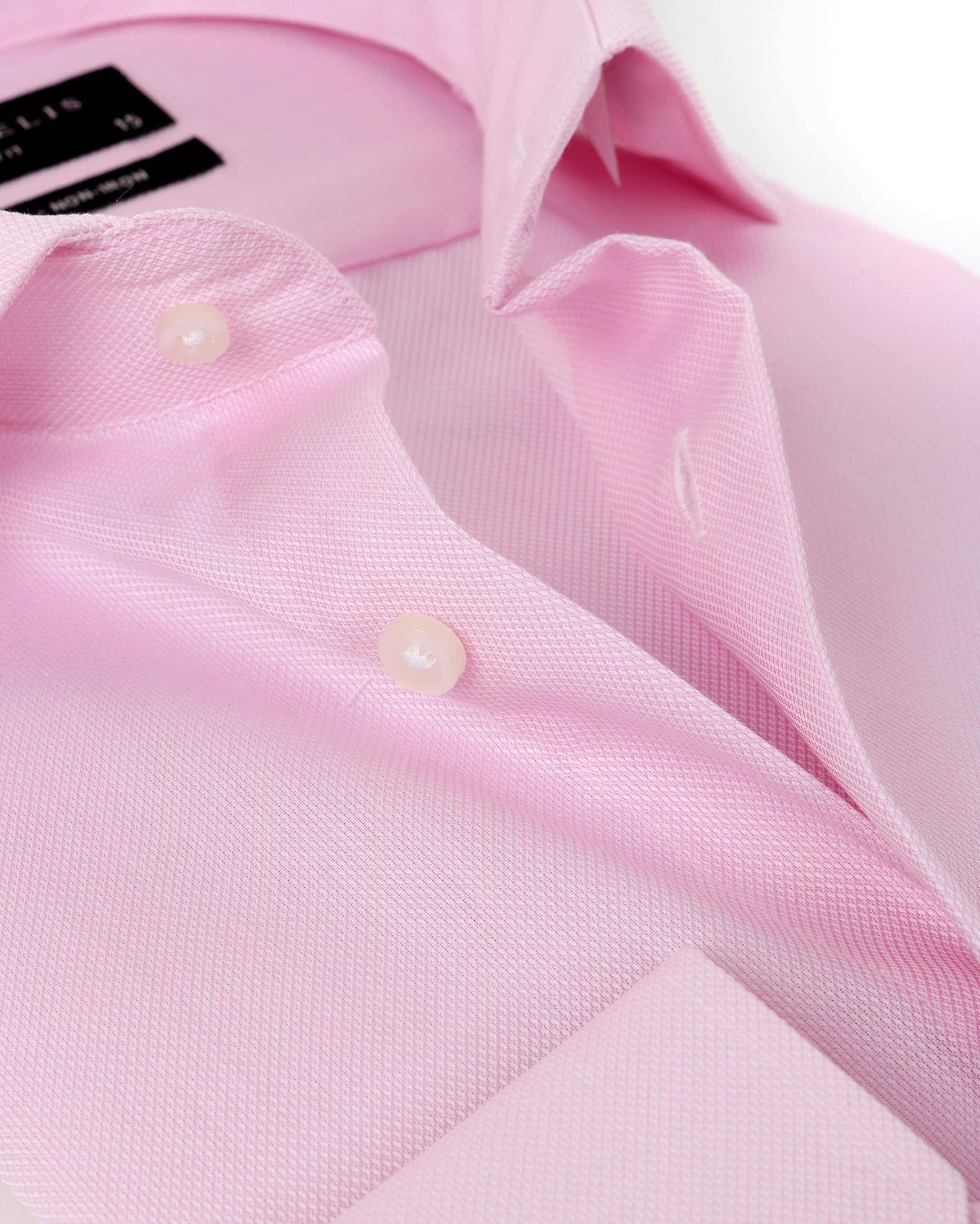 Michaelis Overhemd SlimFit Roze foto 3